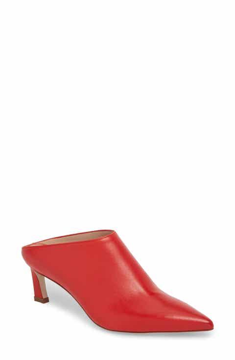 Stuart Weitzman Mira Pointy Toe Mule (Women)