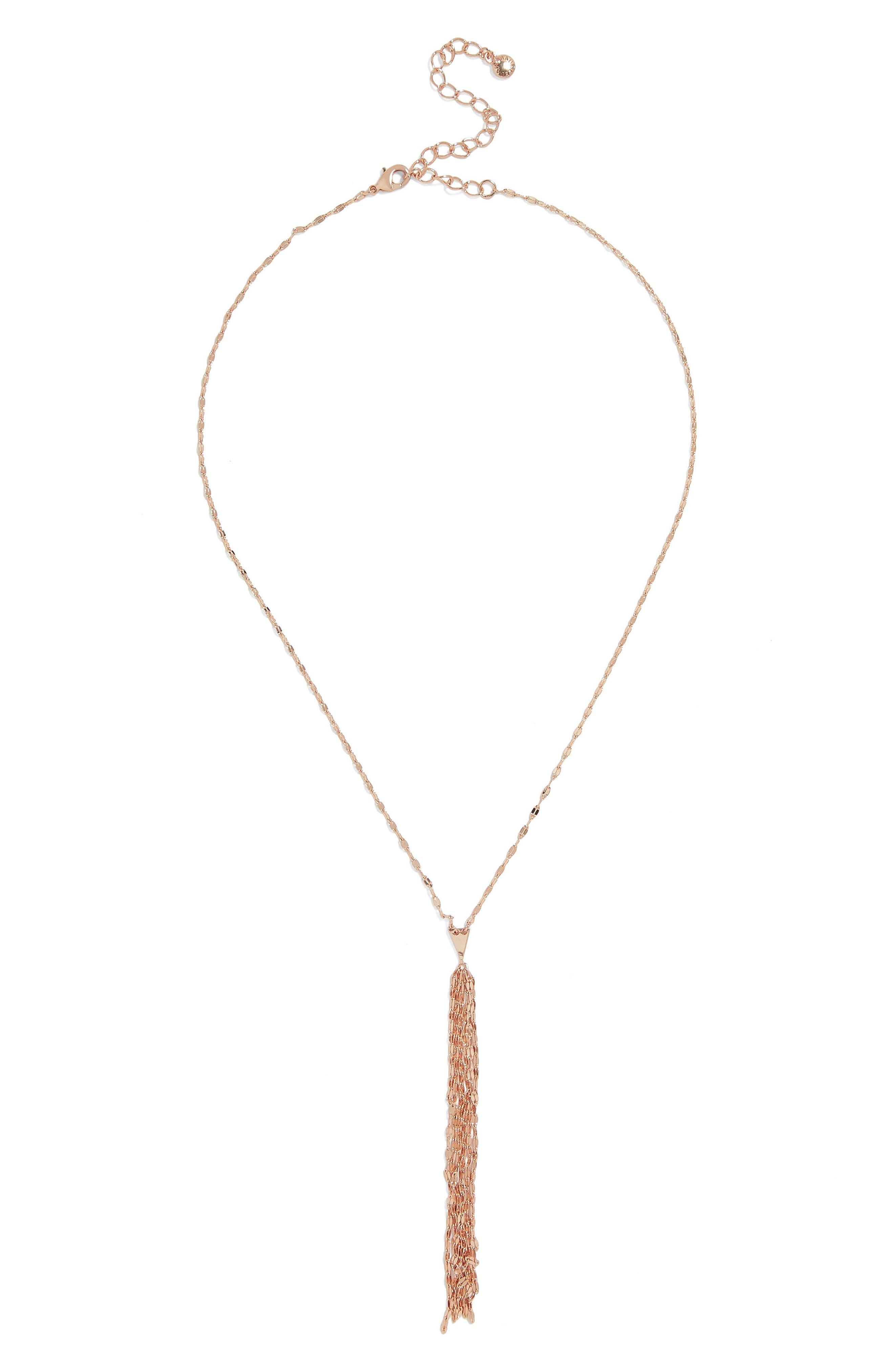 BaubleBar Forte Everyday Fine Y-Necklace