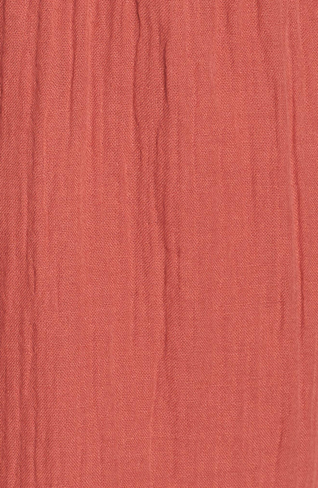 Alternate Image 5  - BP. Easy Cotton Romper