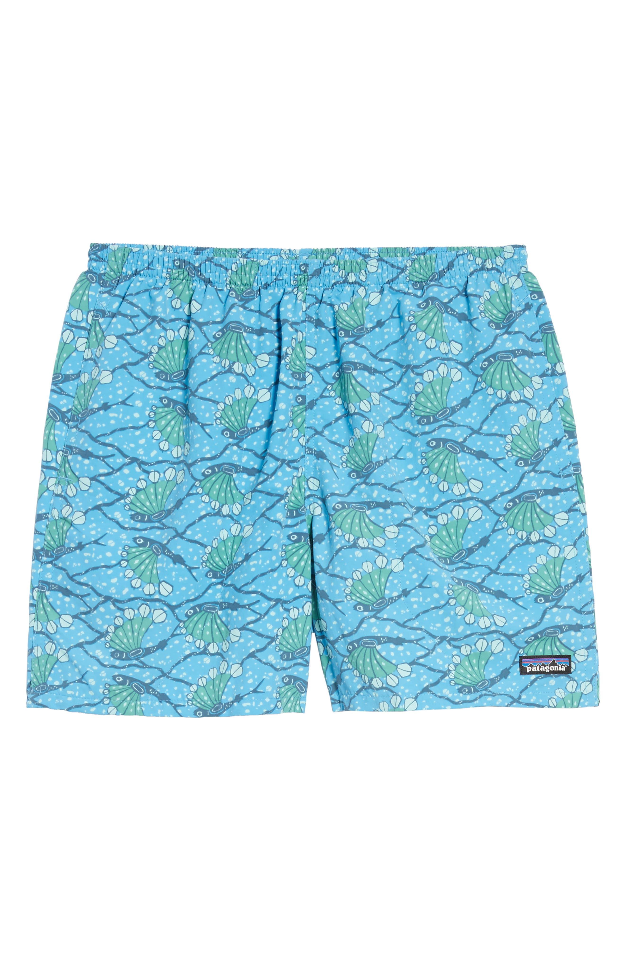 Baggies 5-Inch Swim Trunks,                             Alternate thumbnail 6, color,                             Hexy Fish Radar Blue