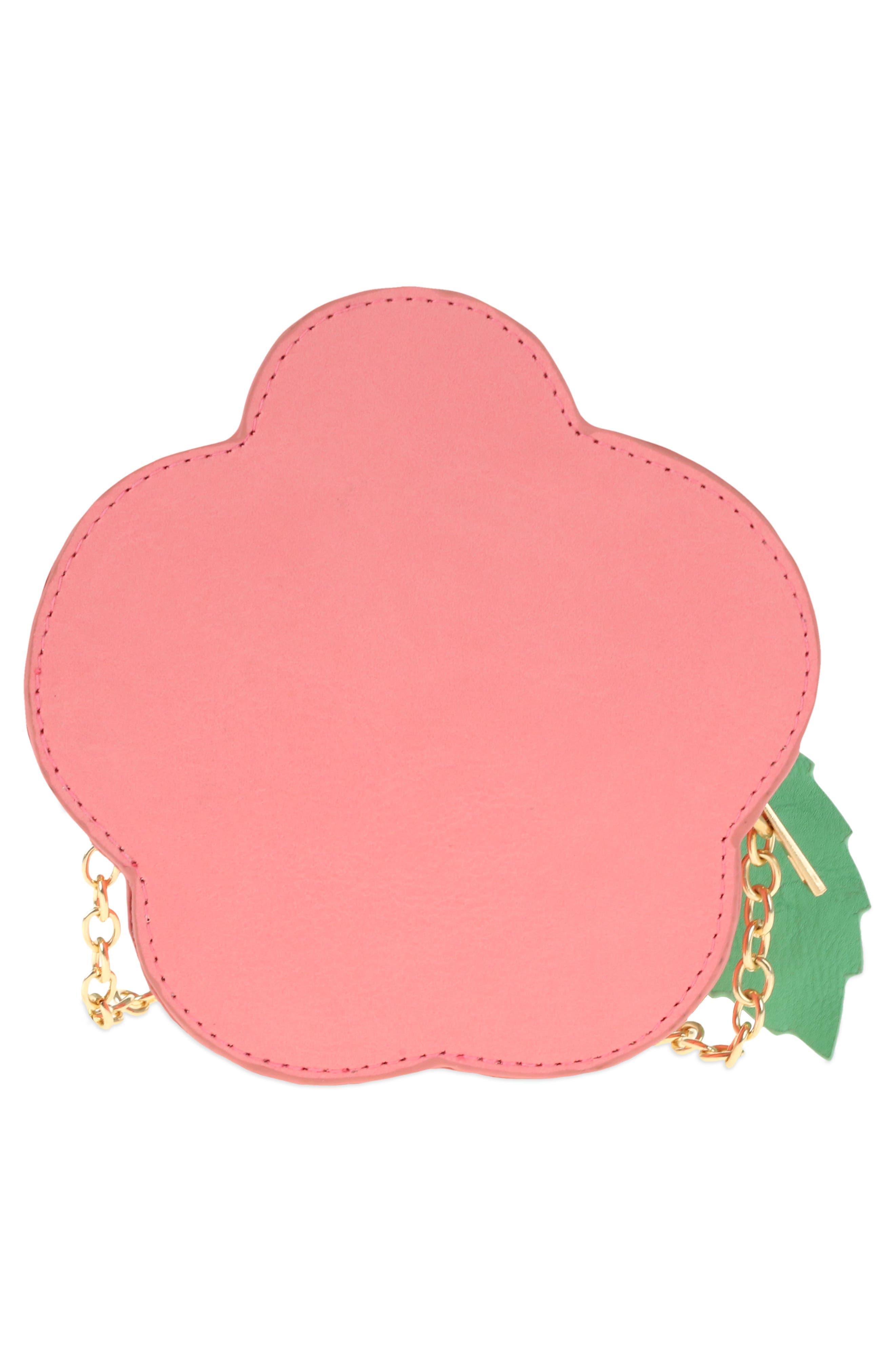 Rose Crossbody Bag,                             Alternate thumbnail 2, color,                             Red Combo
