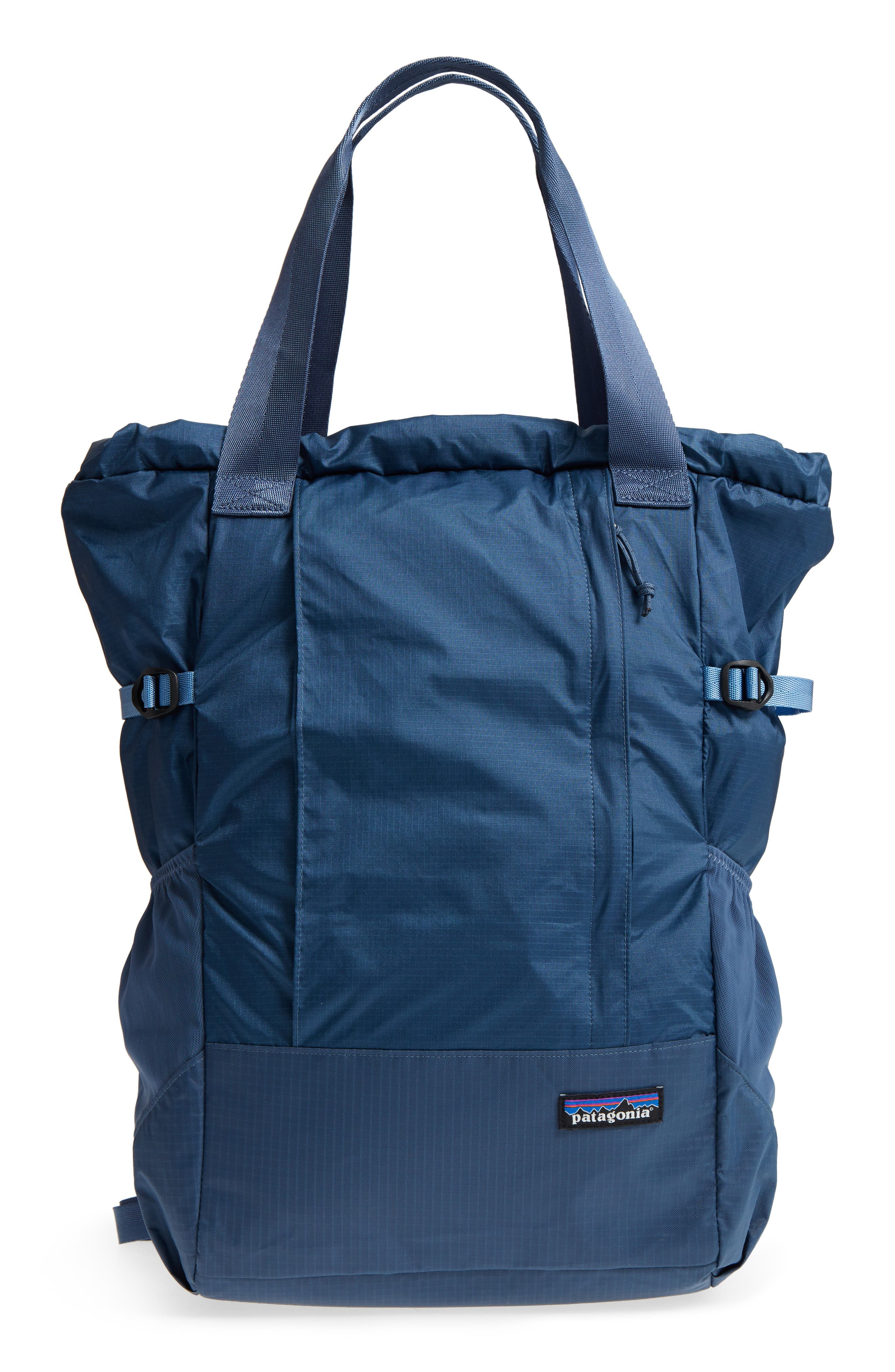 Lightweight Travel Tote Pack,                             Main thumbnail 1, color,                             Dolomite Blue