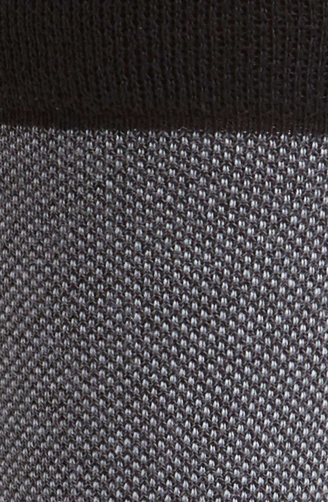 Joaquim Solid Socks,                             Alternate thumbnail 2, color,                             Black/ Charcoal