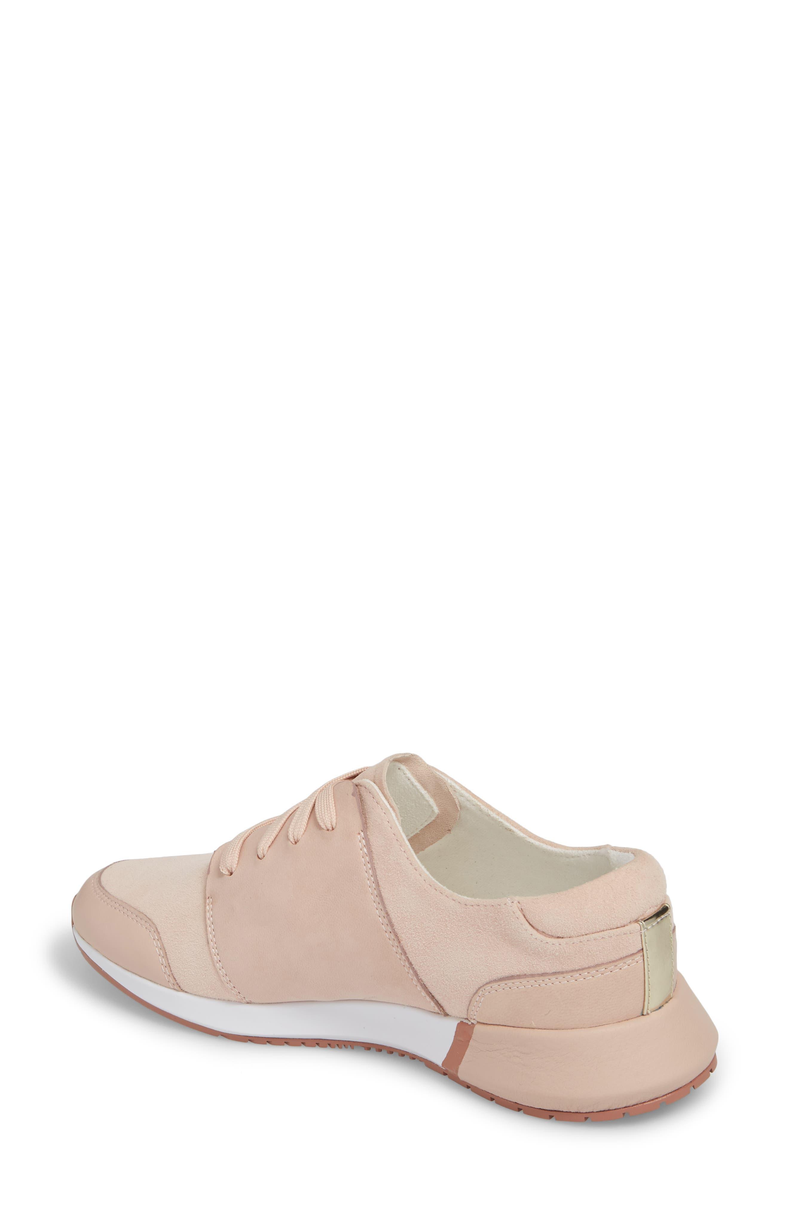 Sumner 2 Sneaker,                             Alternate thumbnail 2, color,                             Rose Suede