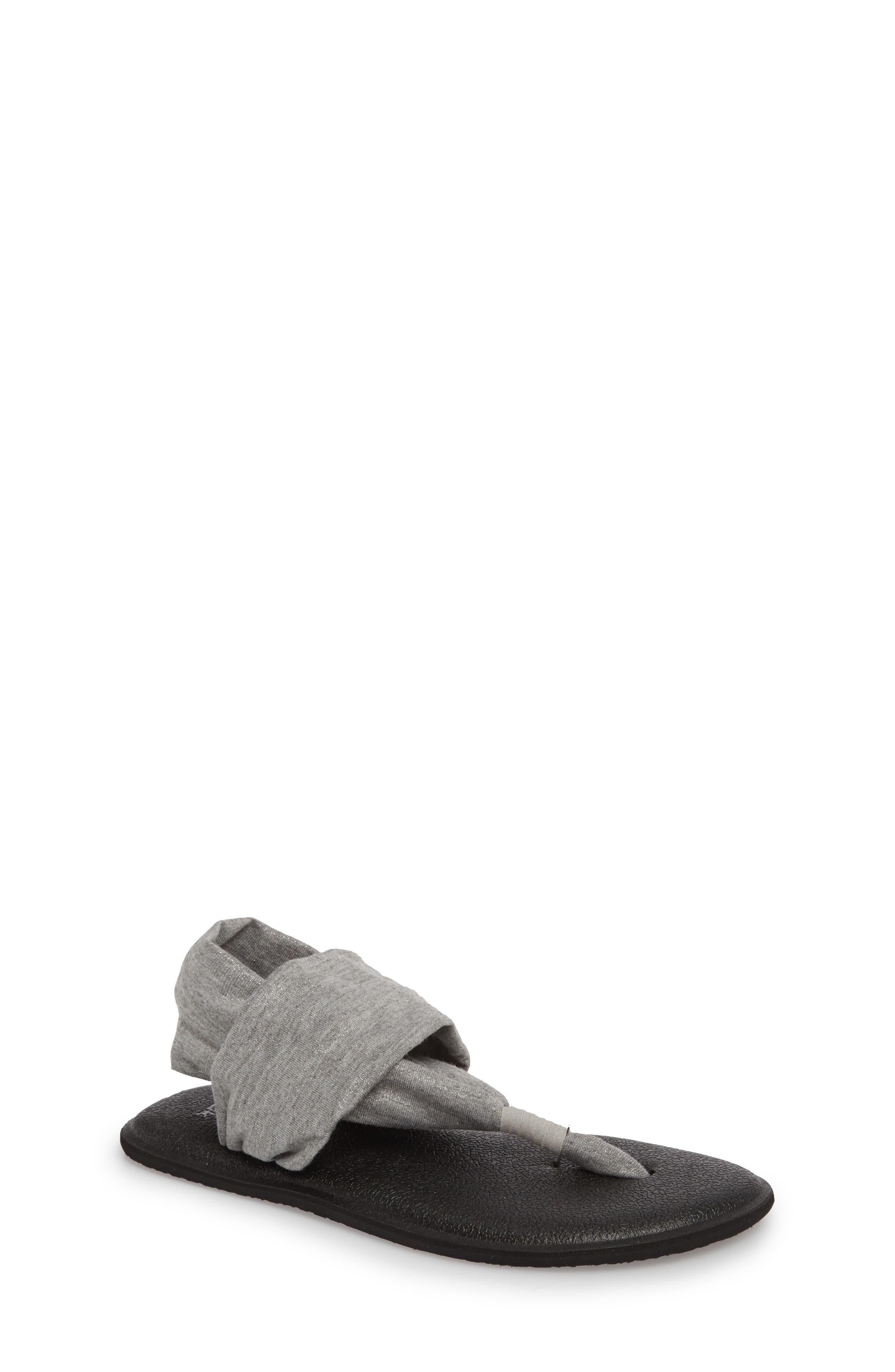 Sanuk'Yoga Sling Bling' Sandal (Little Kid & Big Kid)