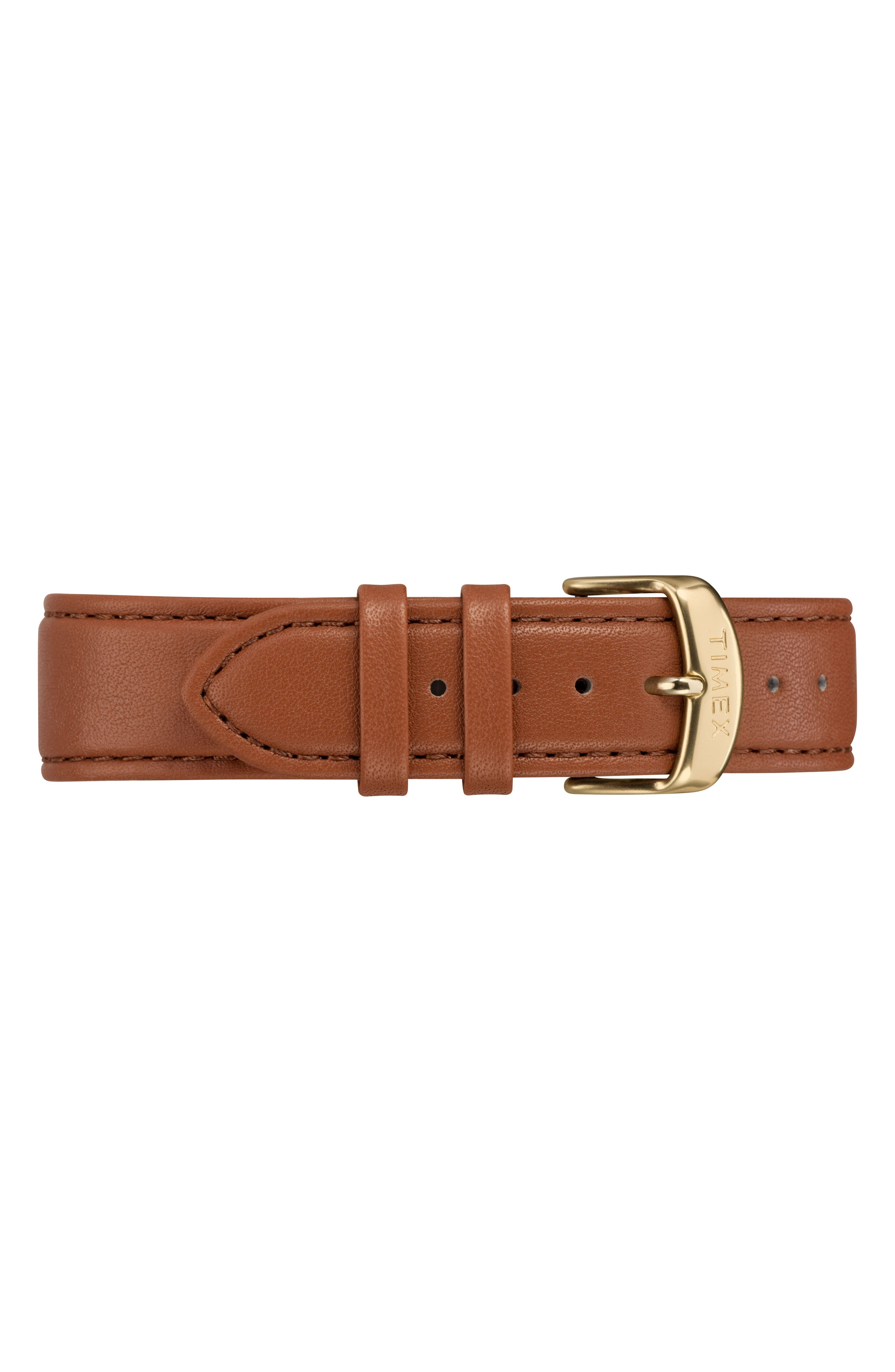 Fairfield Leather Strap Watch, 41mm,                             Alternate thumbnail 2, color,                             Tan/ Cream/ Gold