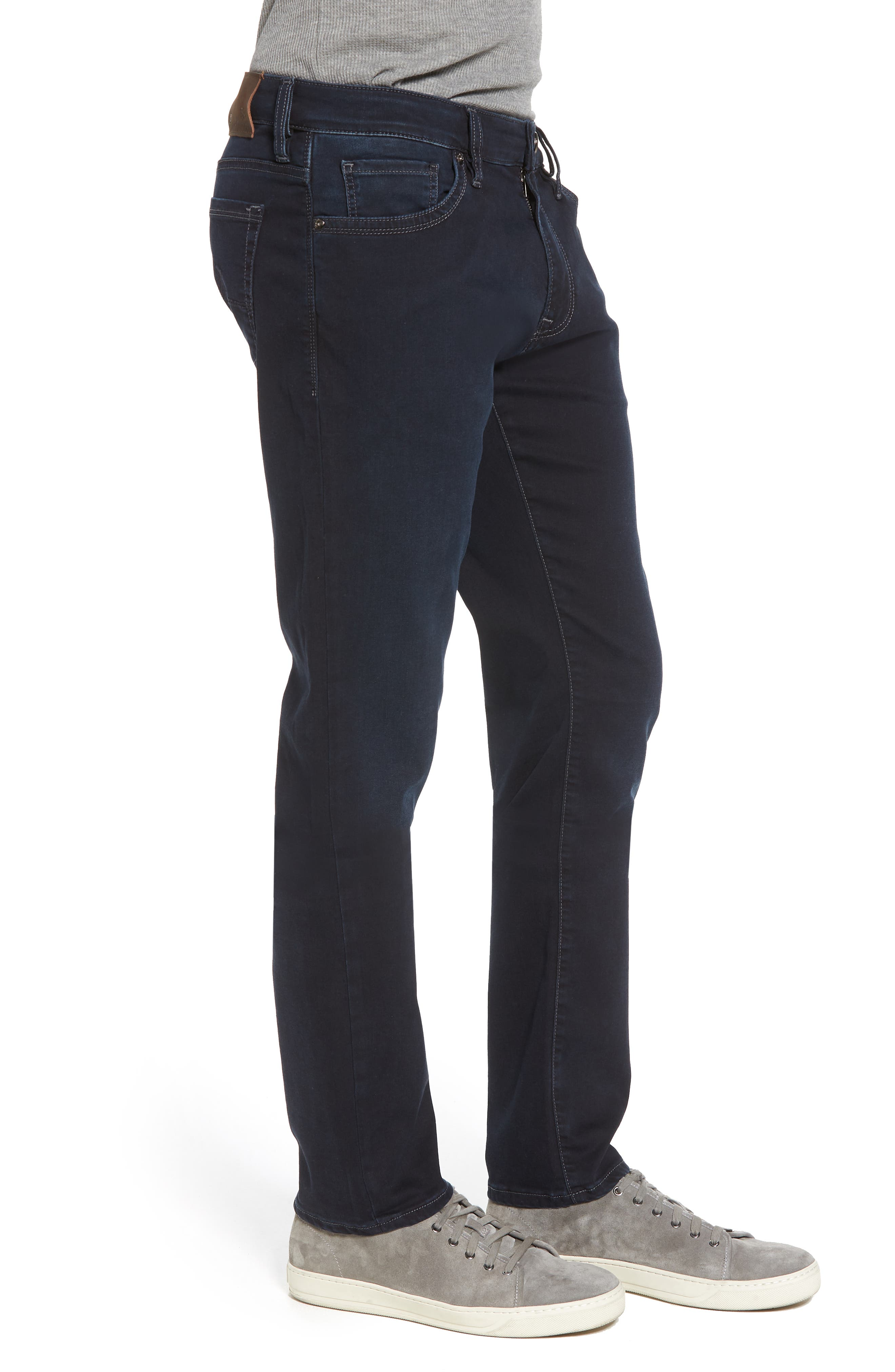 Cool Slim Straight Leg Jeans,                             Alternate thumbnail 3, color,                             Midnight Austin