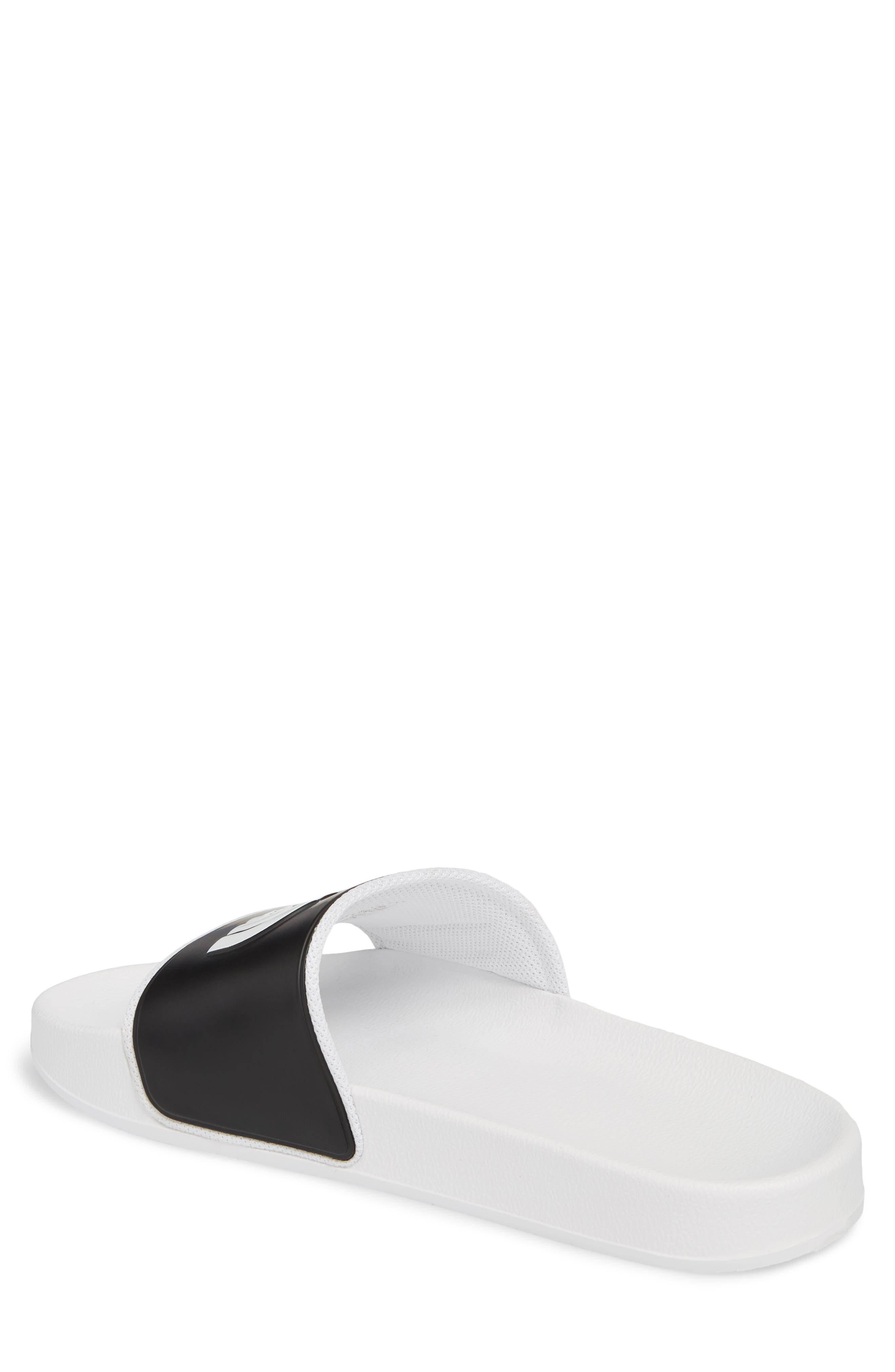 Base Camp II Slide Sandal,                             Alternate thumbnail 2, color,                             Tnf White/ Tnf Black