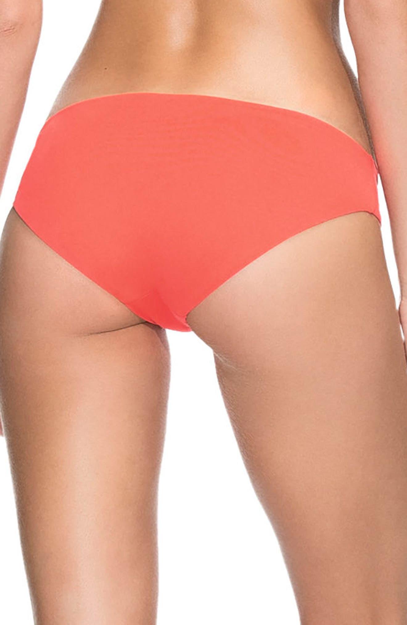 Dahlia Sublime Reversible Bikini Bottoms,                             Alternate thumbnail 3, color,                             Dahlia