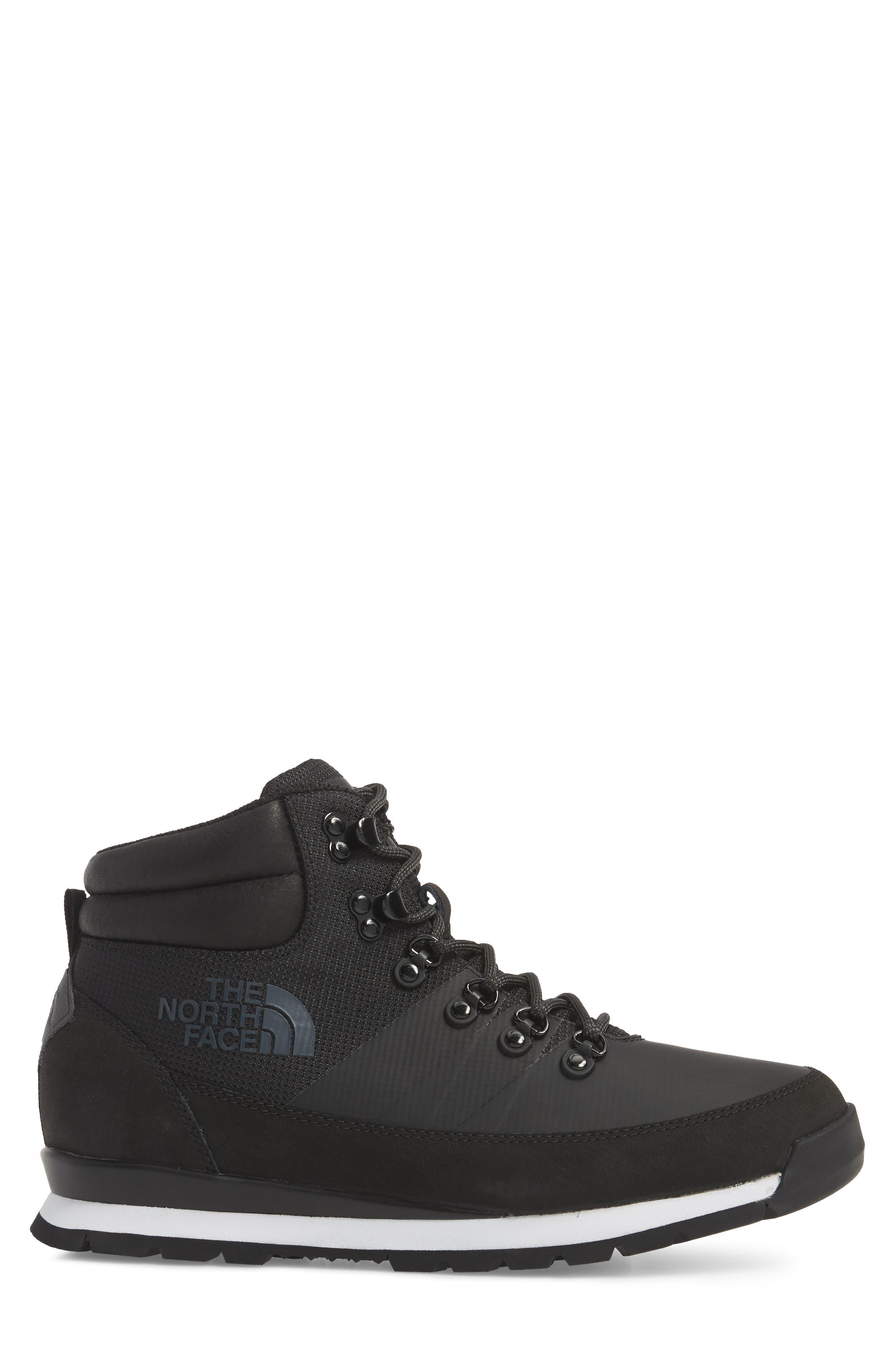 Back to Berkeley Mid AM Sneaker Boot,                             Alternate thumbnail 3, color,                             Tnf Black/ Tnf Black