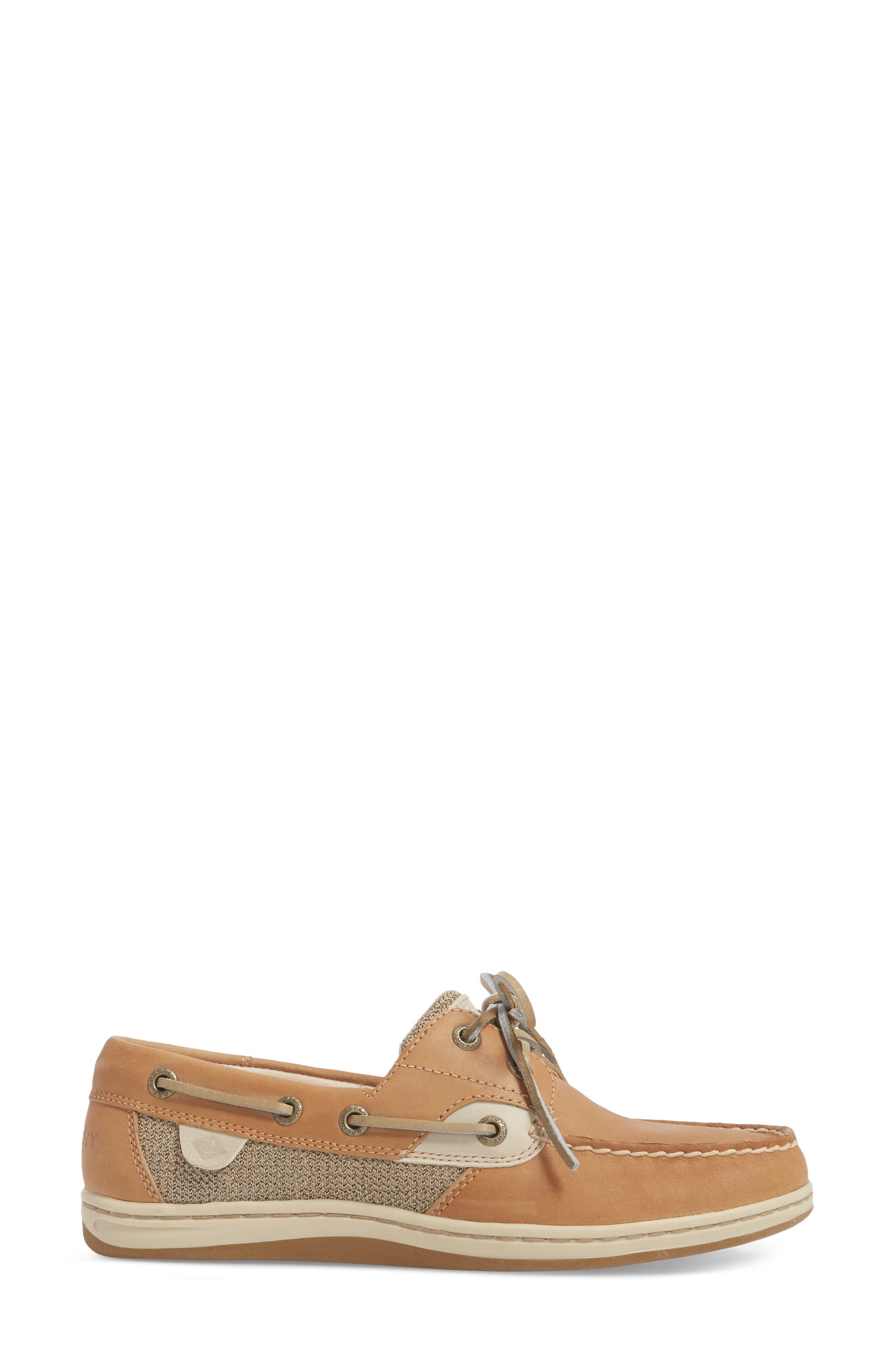 Top-Sider Koifish Loafer,                             Alternate thumbnail 3, color,                             Linen Oat Leather