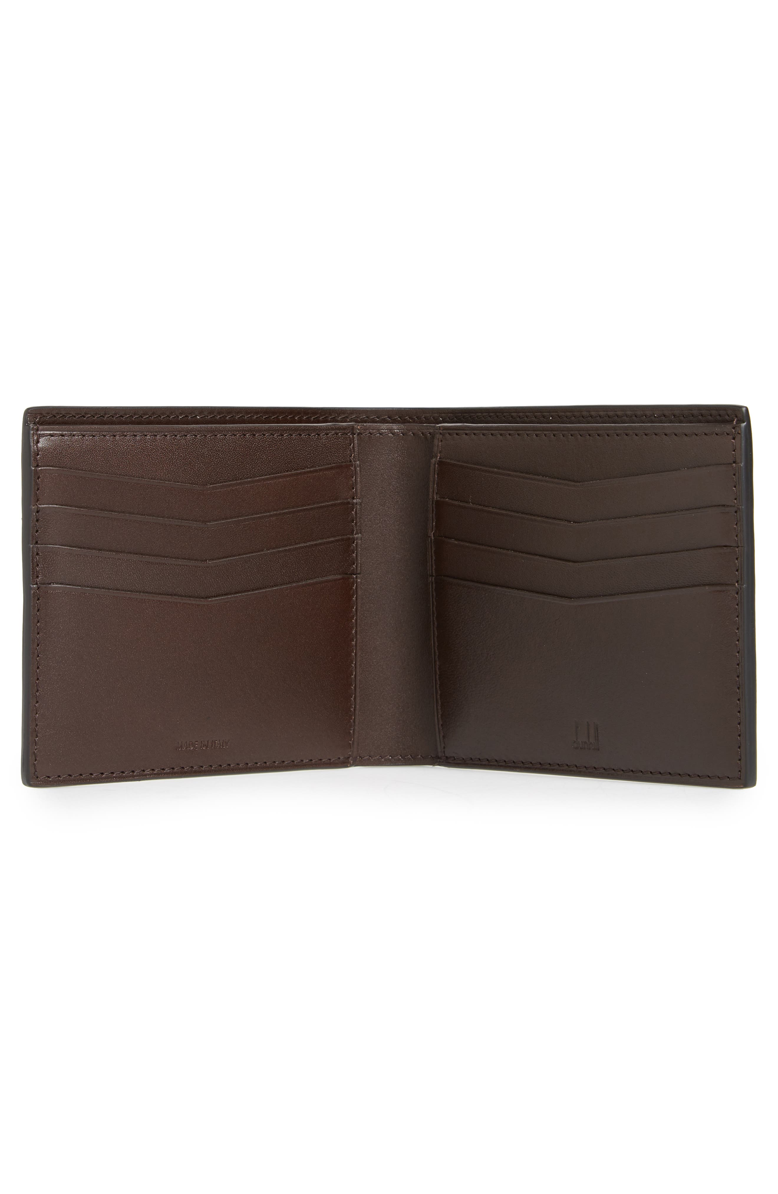 Chassis Leather Wallet,                             Alternate thumbnail 2, color,                             Black