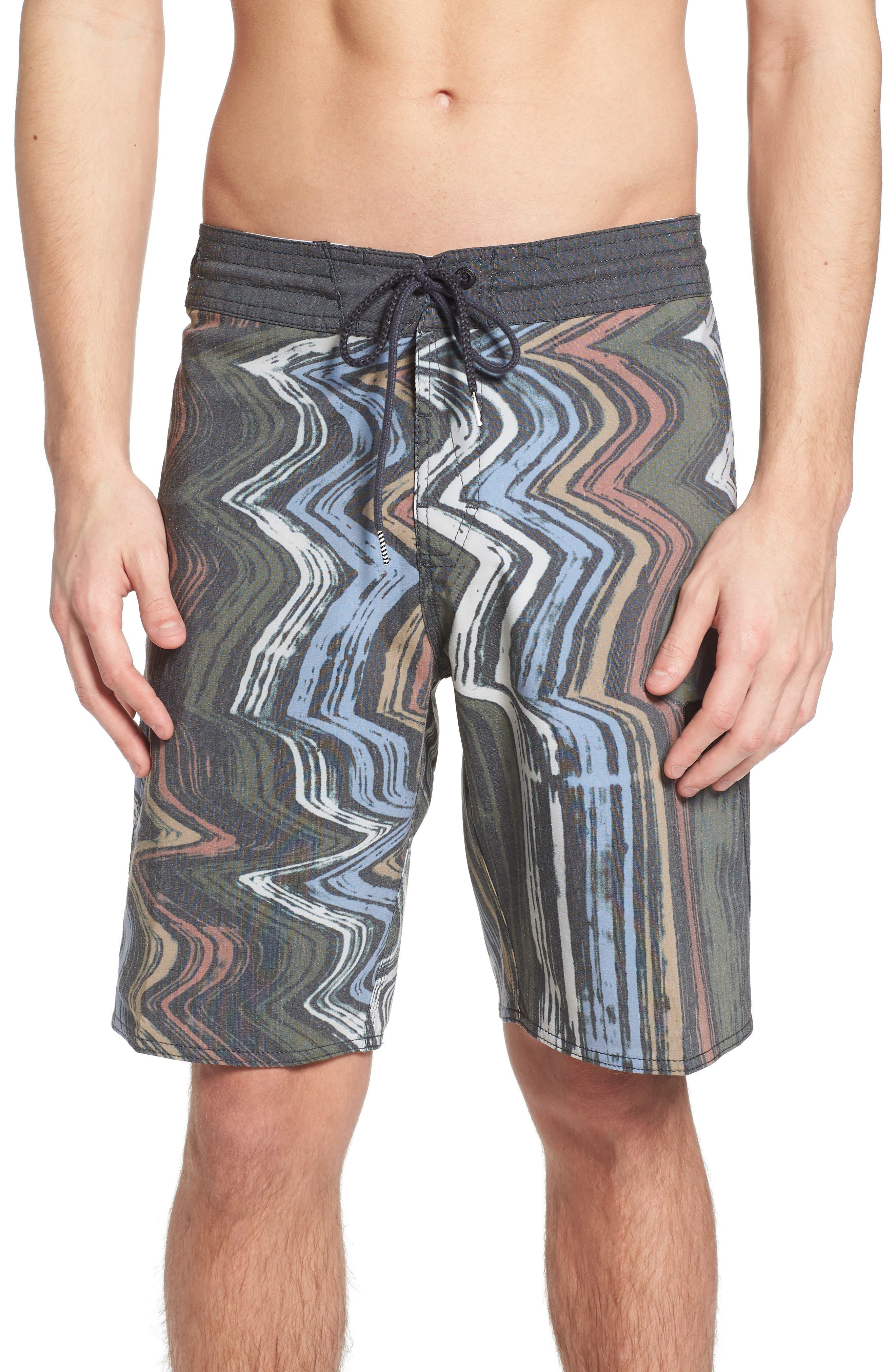 Lo-Fi Stoney Board Shorts,                             Main thumbnail 1, color,                             Stealth
