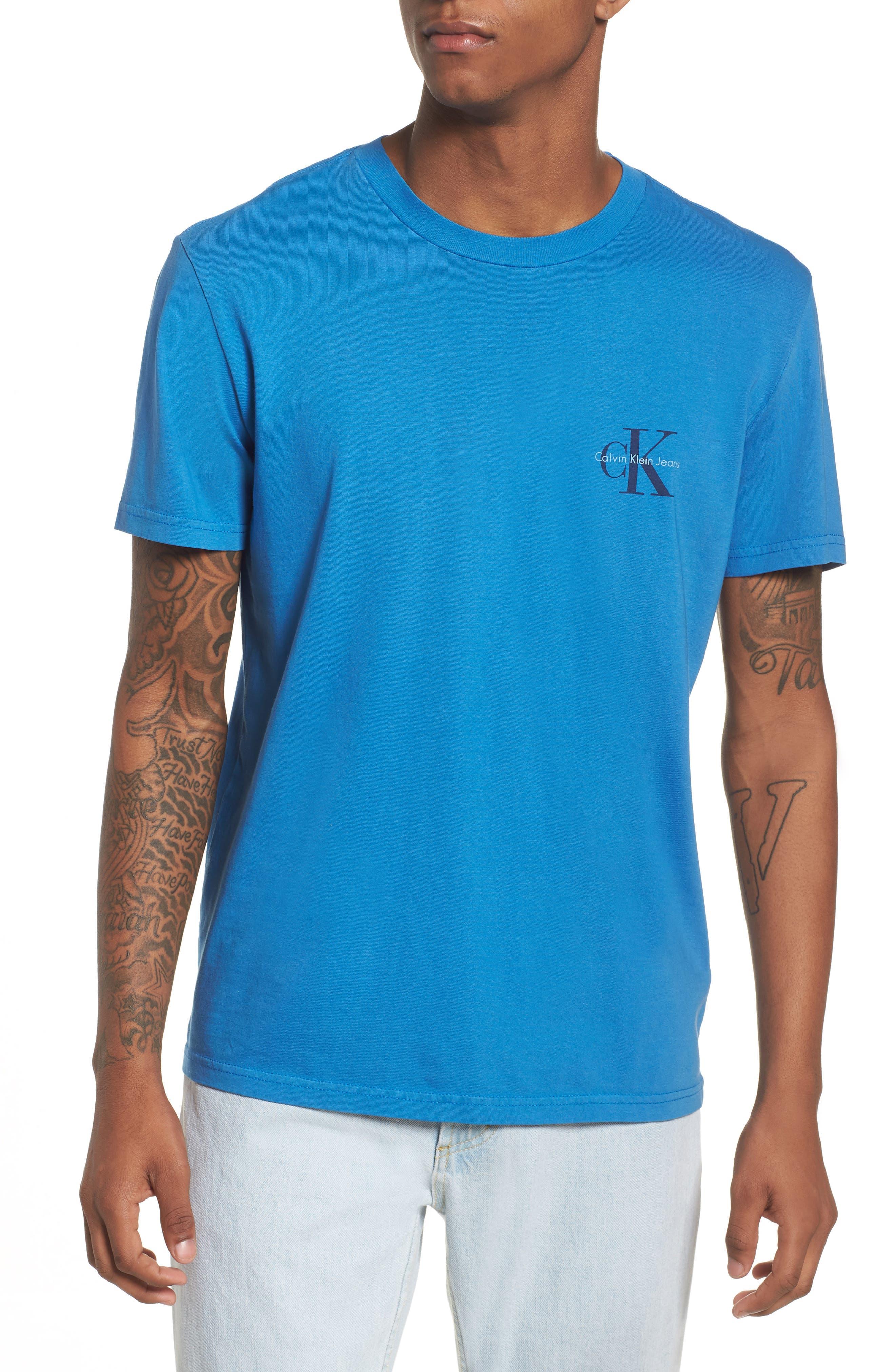 Pop Color T-Shirt,                         Main,                         color, Strong Blue