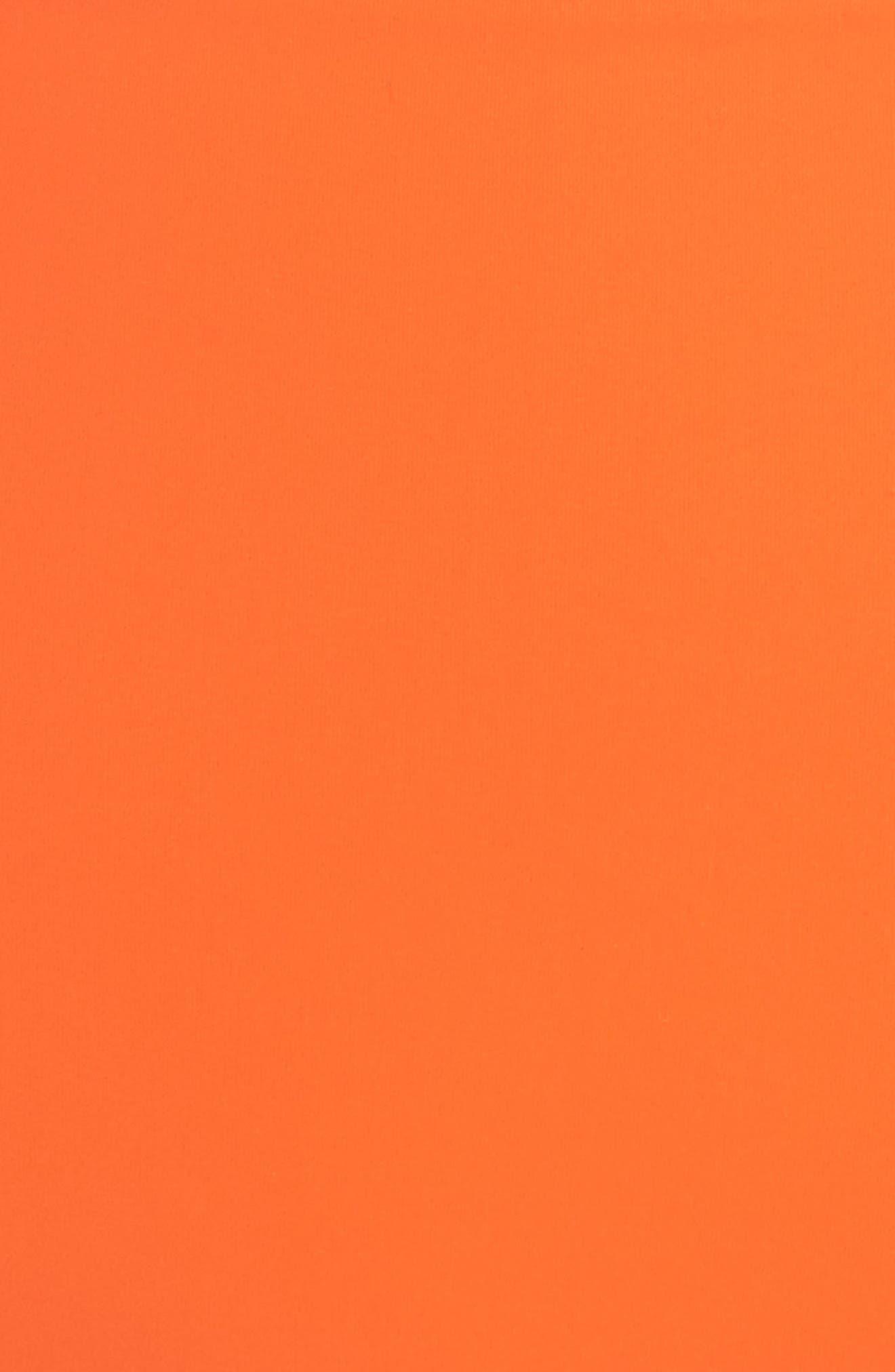 Marina High Waist Bikini Bottoms,                             Alternate thumbnail 6, color,                             Sweet Tangerine