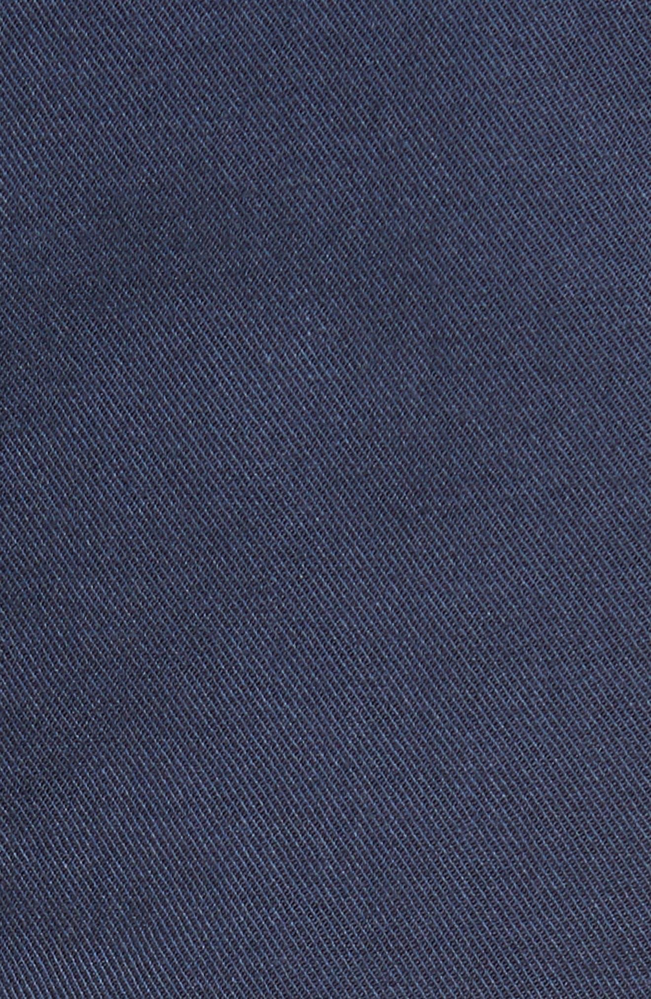 Twill Utility Skirt,                             Alternate thumbnail 5, color,                             Navy Indigo