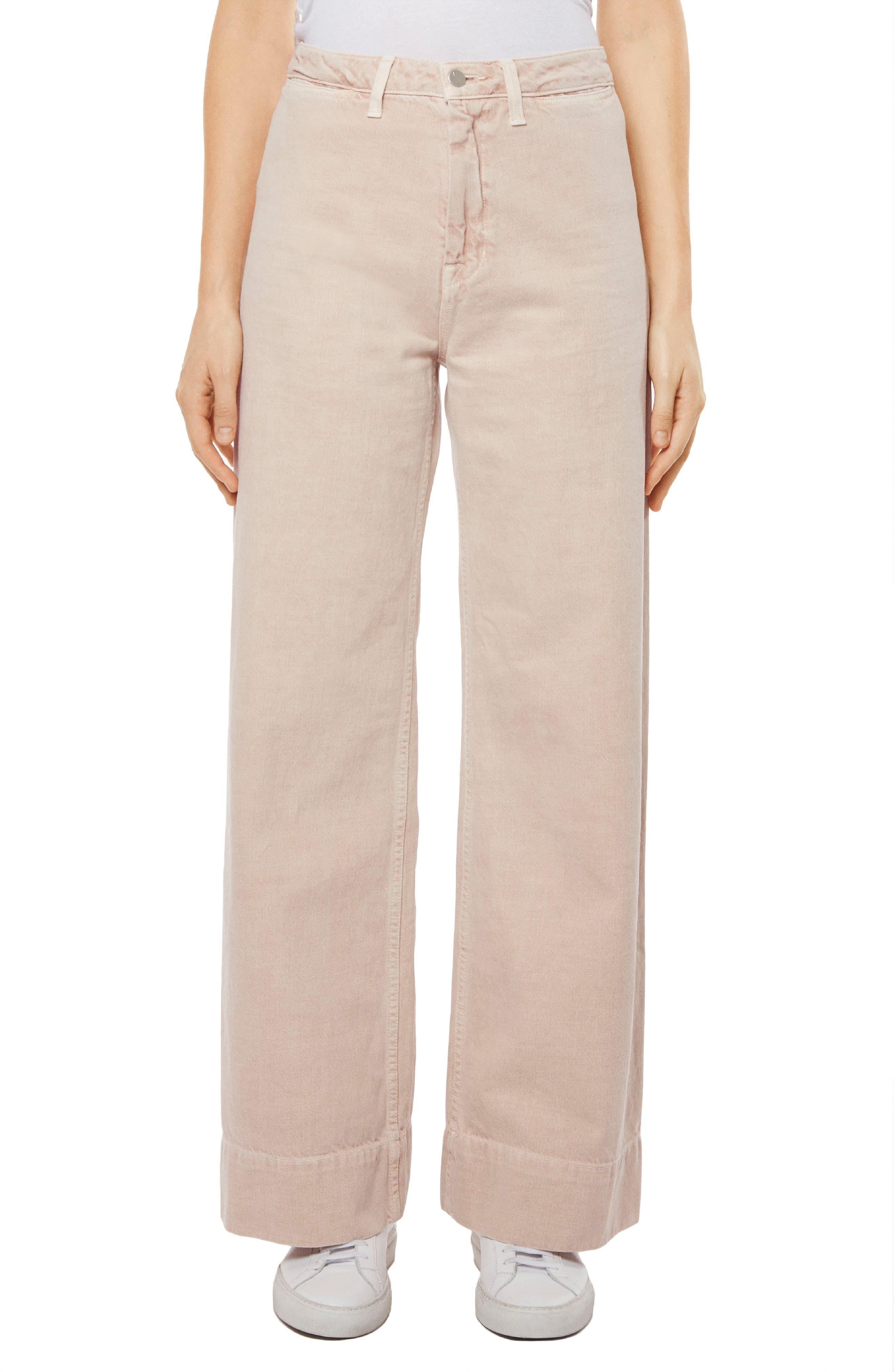 Hallton High Waist Wide Leg Jeans,                         Main,                         color, Memory