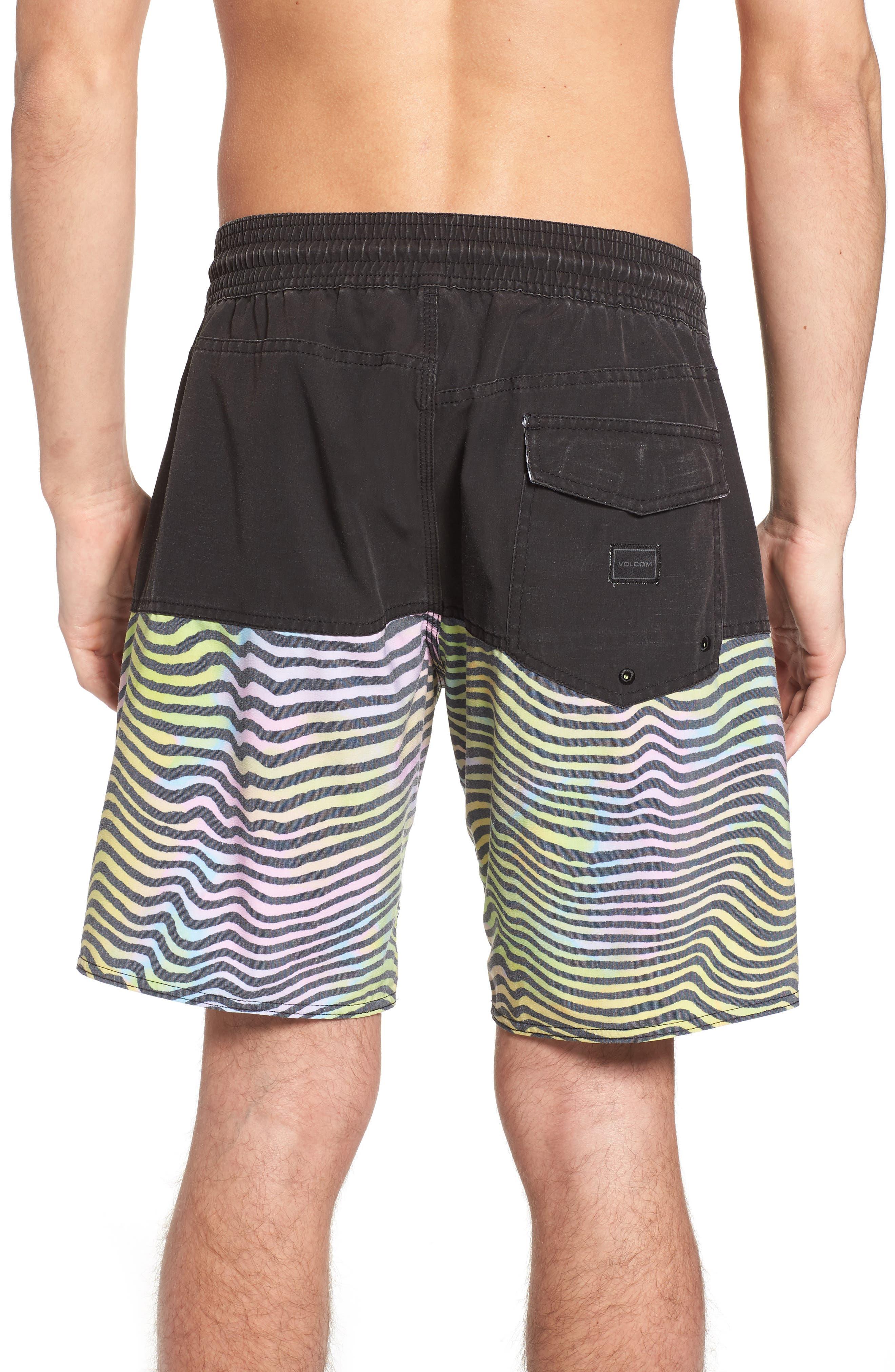 Vibes Half Stoney Board Shorts,                             Alternate thumbnail 2, color,                             Multi