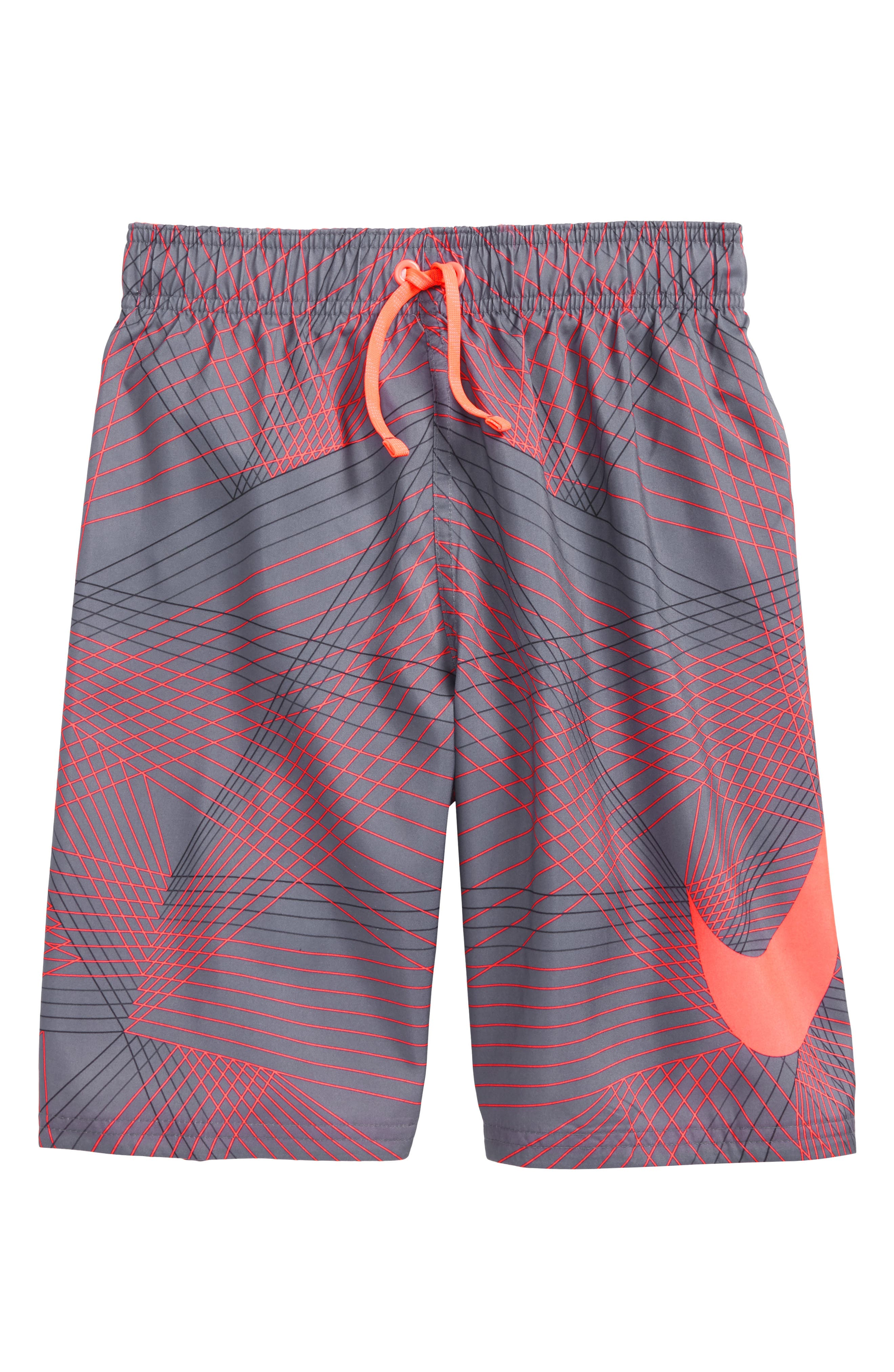 Breaker Volley Shorts,                             Main thumbnail 1, color,                             Light Carbon