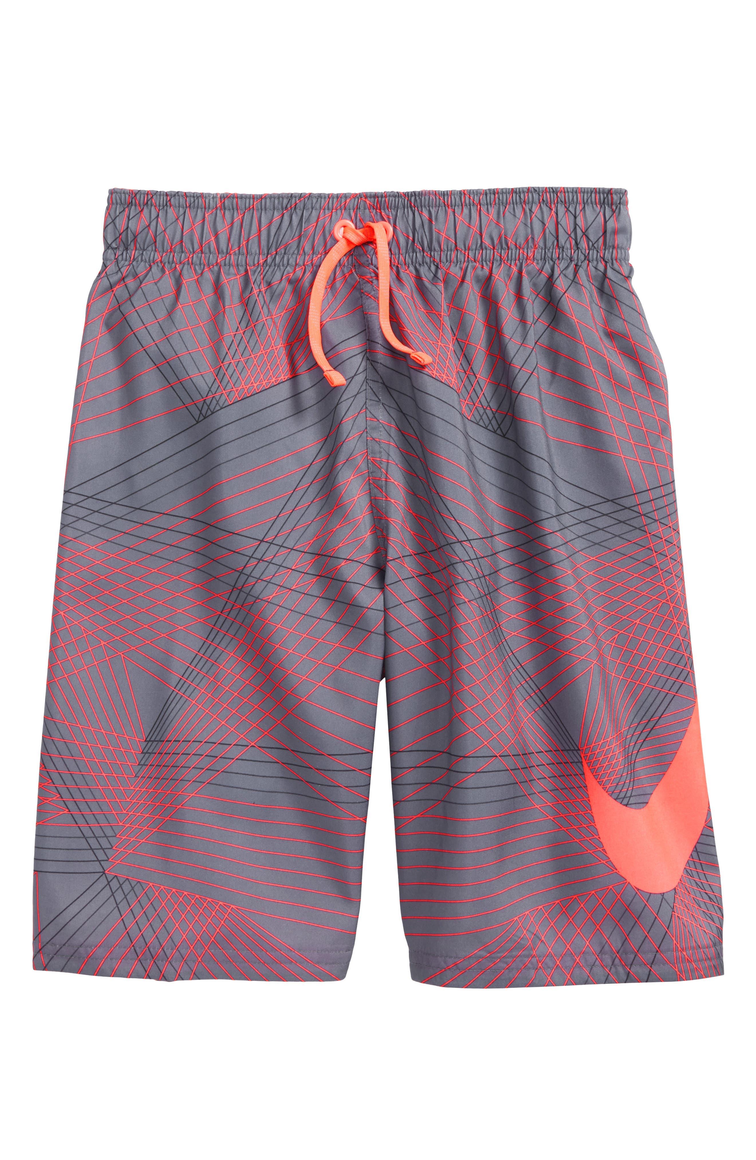 Breaker Volley Shorts,                         Main,                         color, Light Carbon