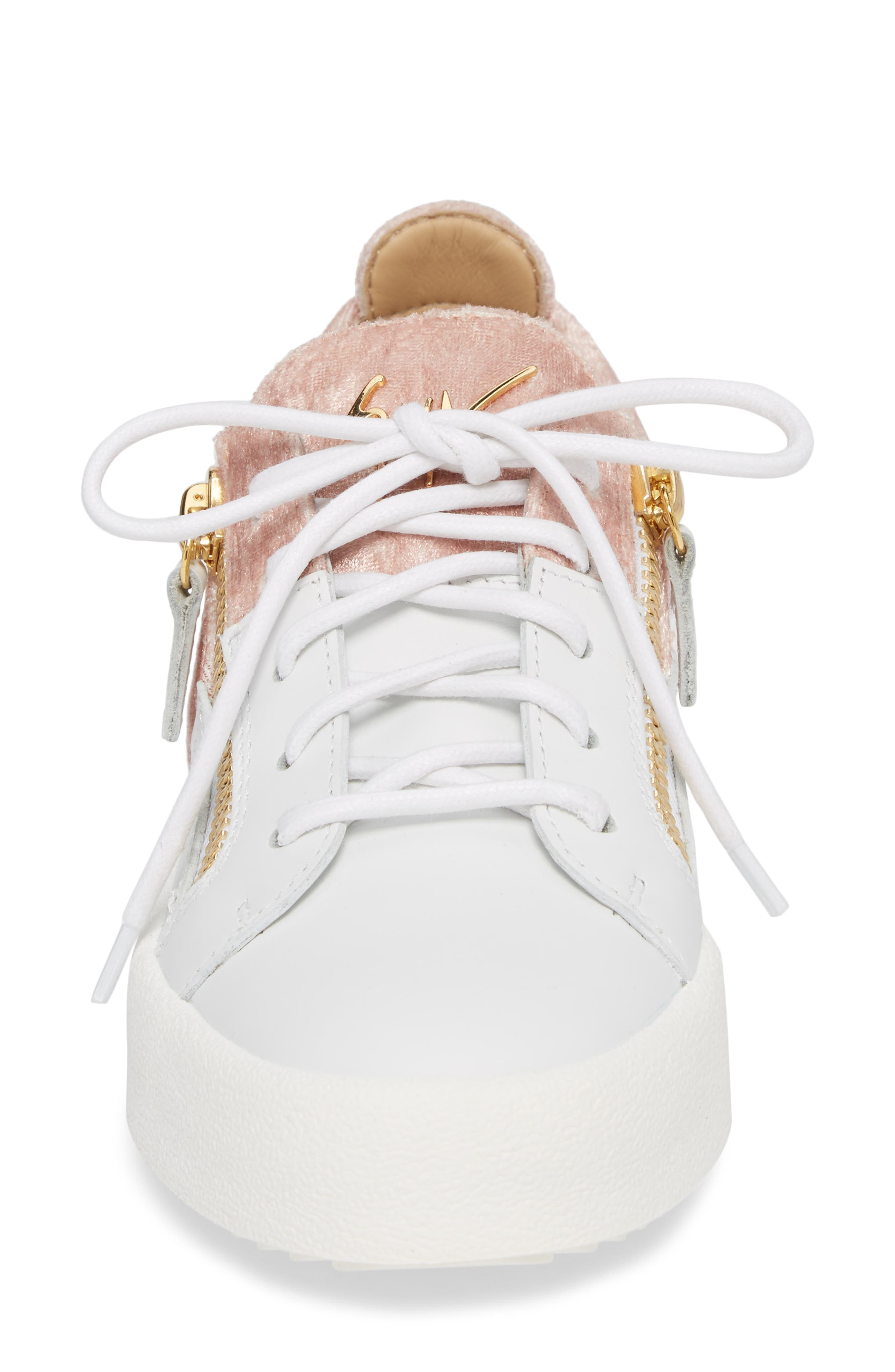 Alternate Image 4  - Giuseppe Zanotti Mid Top Platform Sneaker (Women)