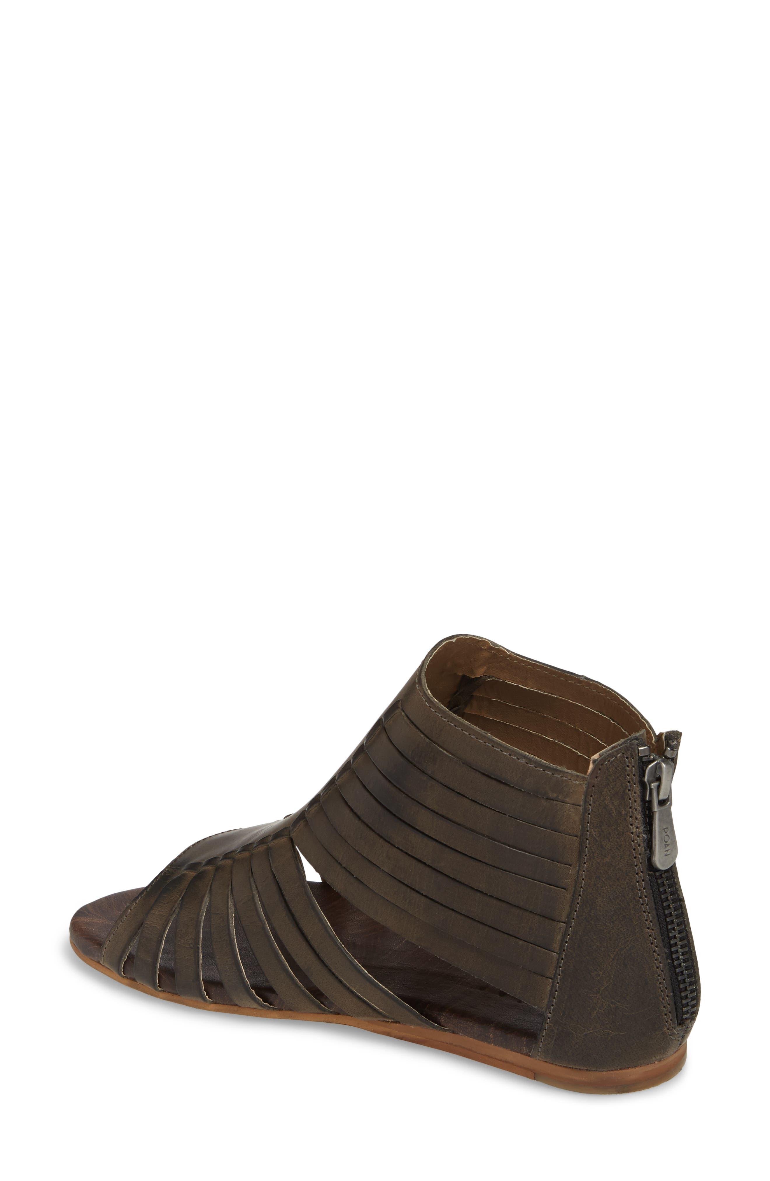 Pearl Gladiator Sandal,                             Alternate thumbnail 2, color,                             Black Greenland