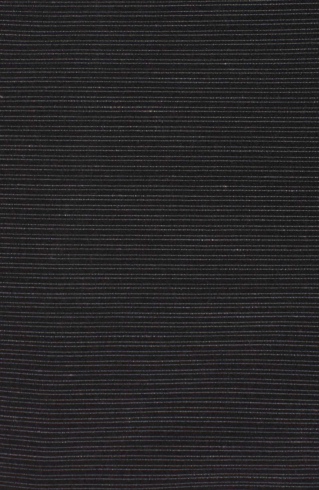 Surf N' Turf Slub Hybrid Shorts,                             Alternate thumbnail 5, color,                             Black
