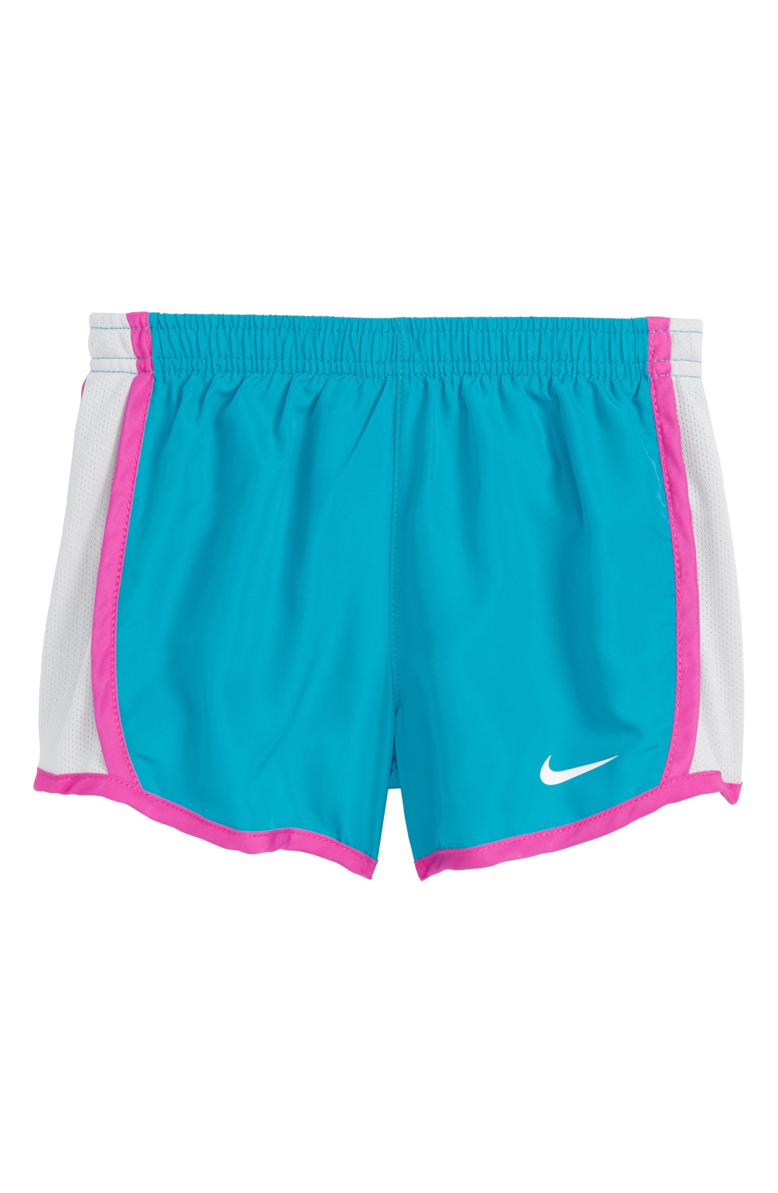 Nike 'Tempo' Dri-FIT Athletic Shorts (Little Girls)
