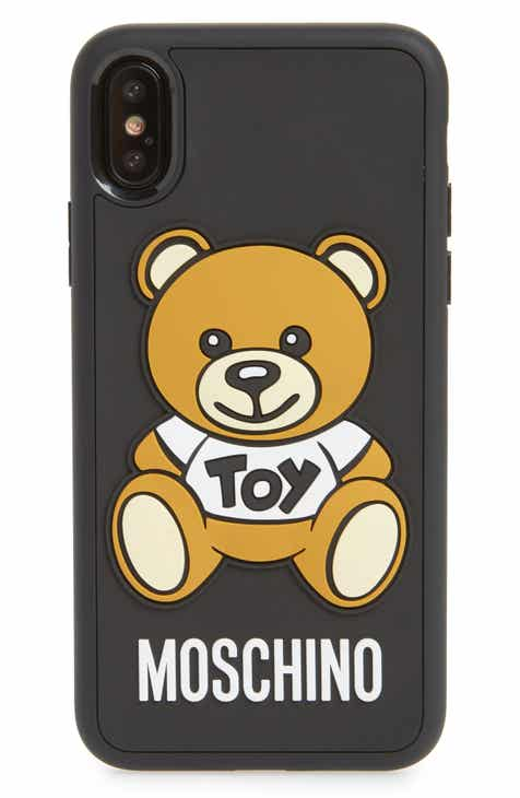 43d320315 Moschino Bear iPhone X Case