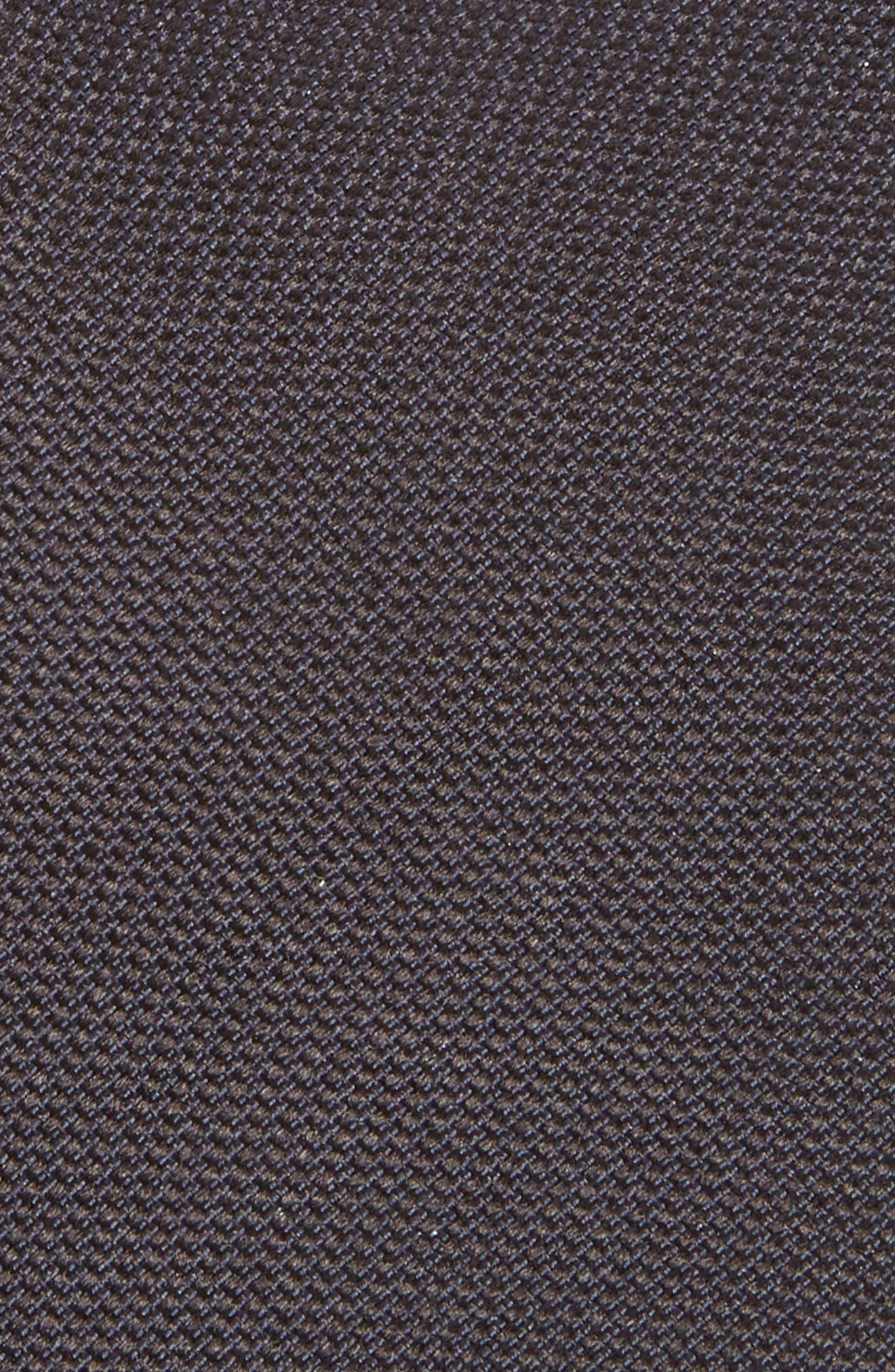 Nordstrom x BOSS Silk Tie,                             Alternate thumbnail 2, color,                             Blue