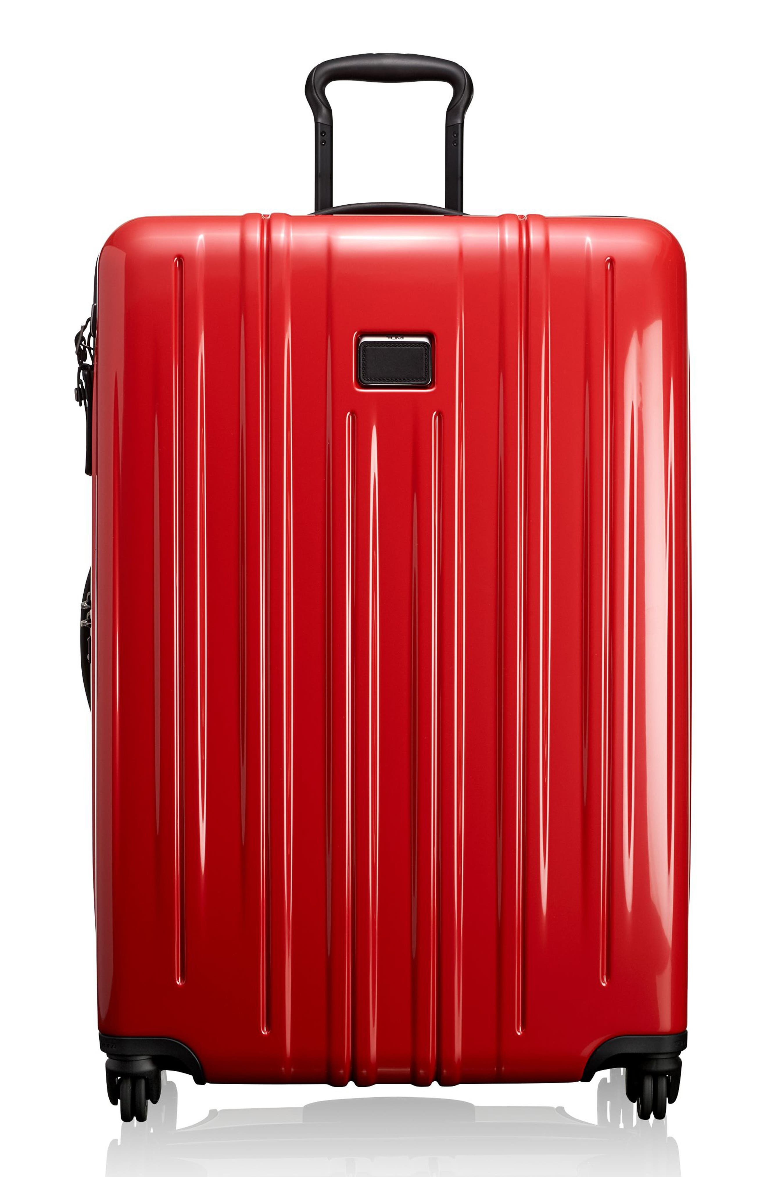 Extended Trip Expandable Wheeled 31-Inch Packing Case,                         Main,                         color, Hot Pink
