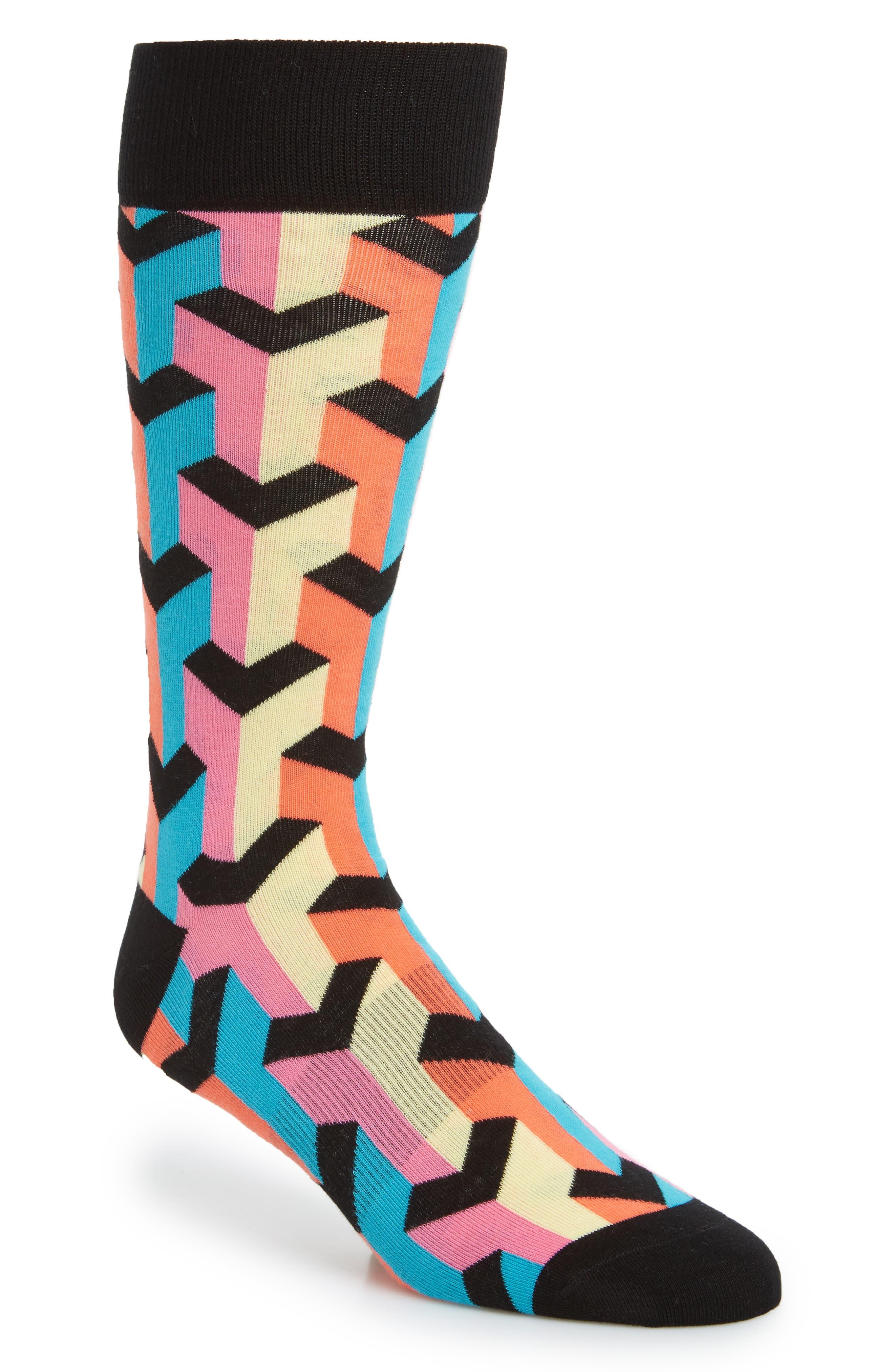 Fun Socks Geometric Socks