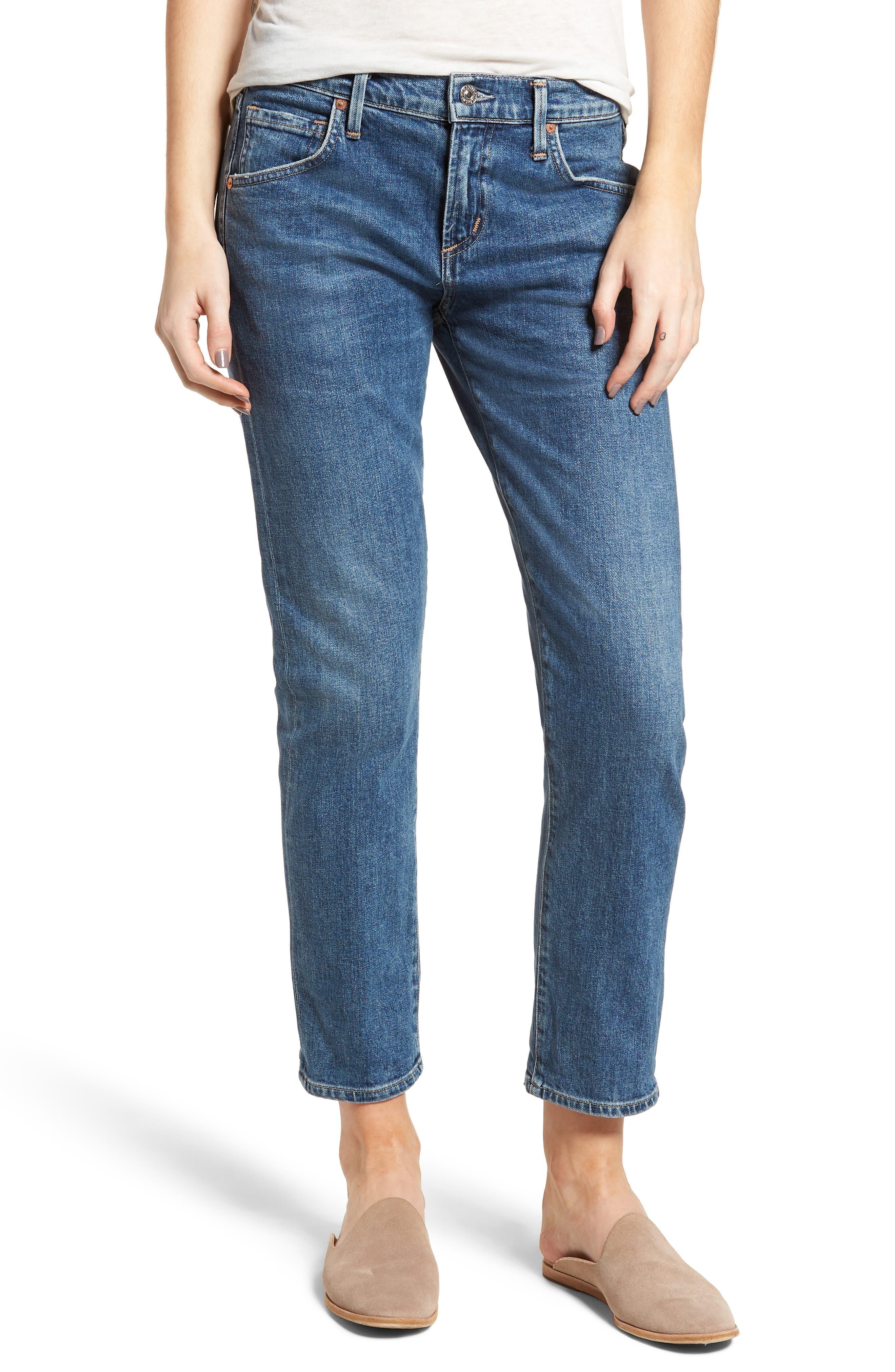 Emerson Slim Boyfriend Jeans,                             Main thumbnail 1, color,                             Century