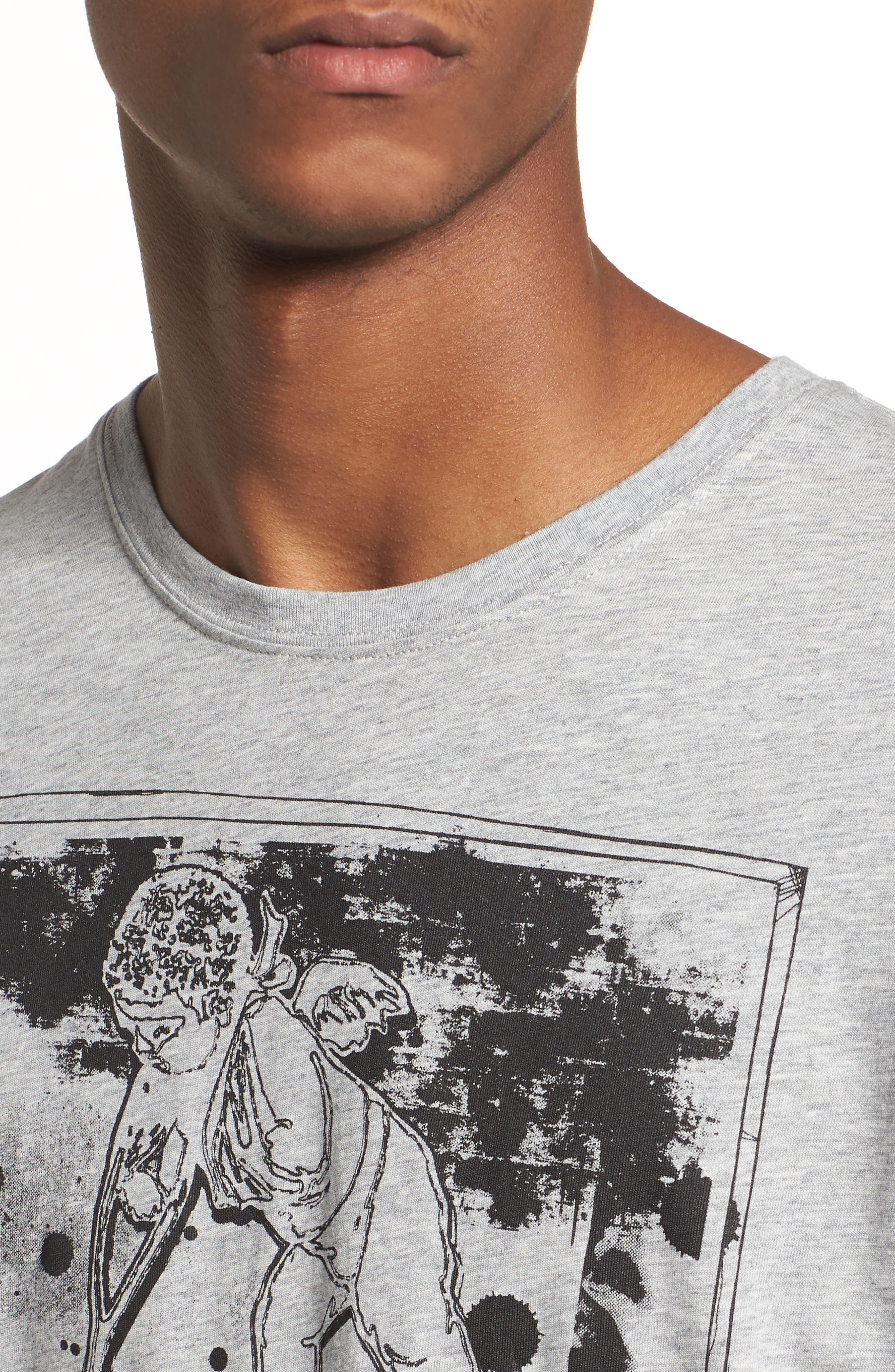 Logo Graphic T-Shirt,                             Alternate thumbnail 4, color,                             Grey
