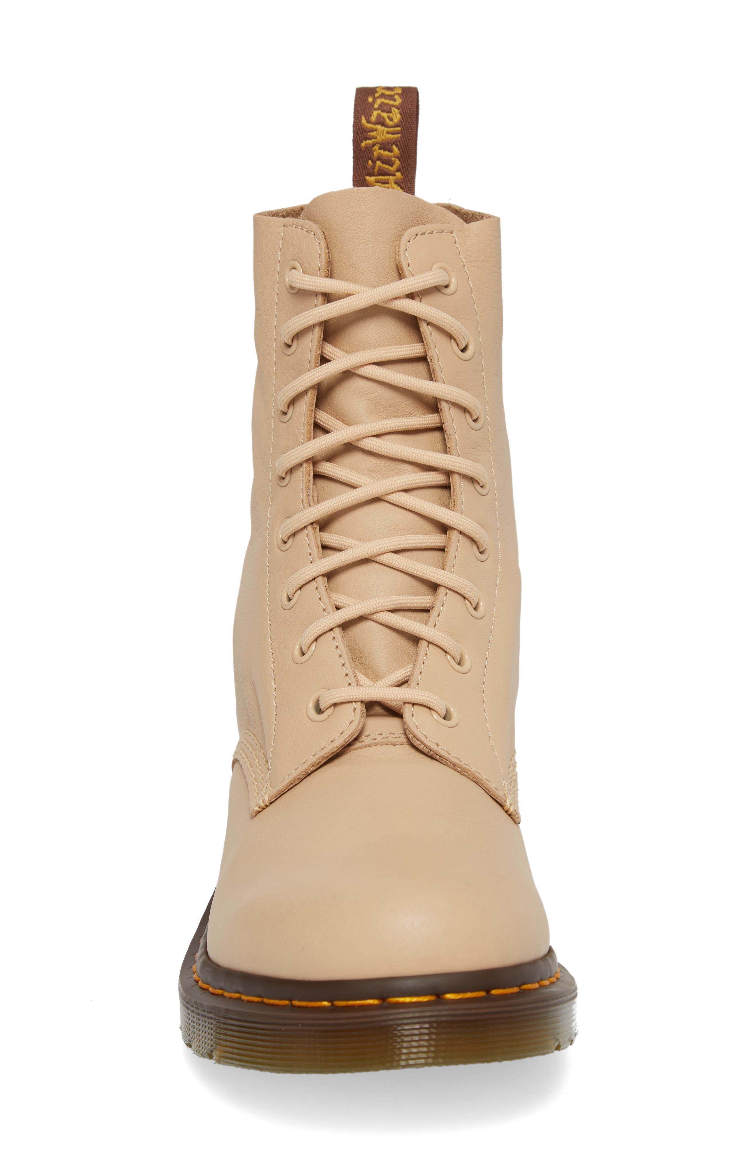 Pascal Boot,                             Alternate thumbnail 5, color,                             Nude Virginia Leather