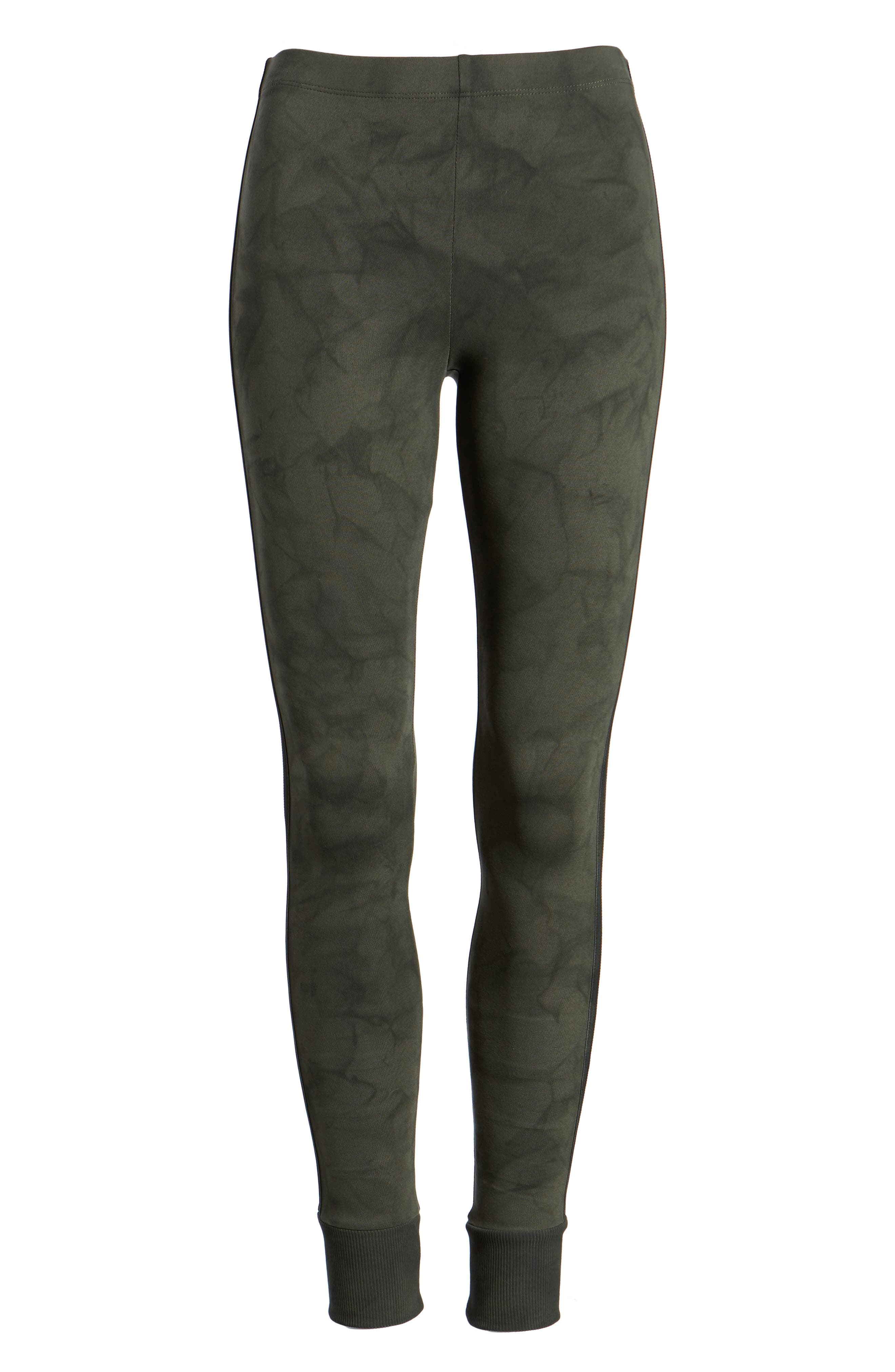 Kiely Ribbed Cuff Leggings,                         Main,                         color, Army Green