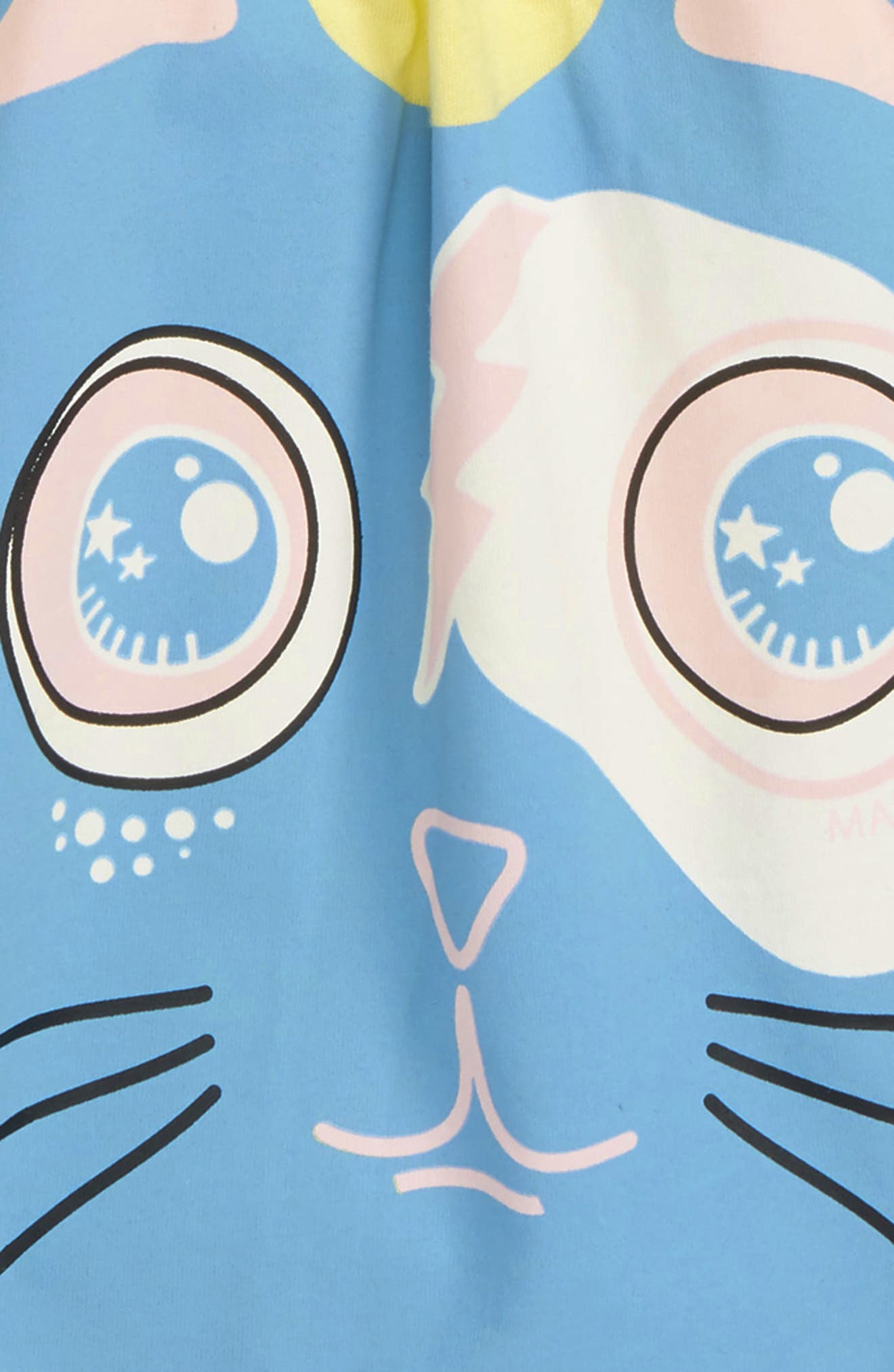 Funny Cat Top,                             Alternate thumbnail 2, color,                             Funny Yellow