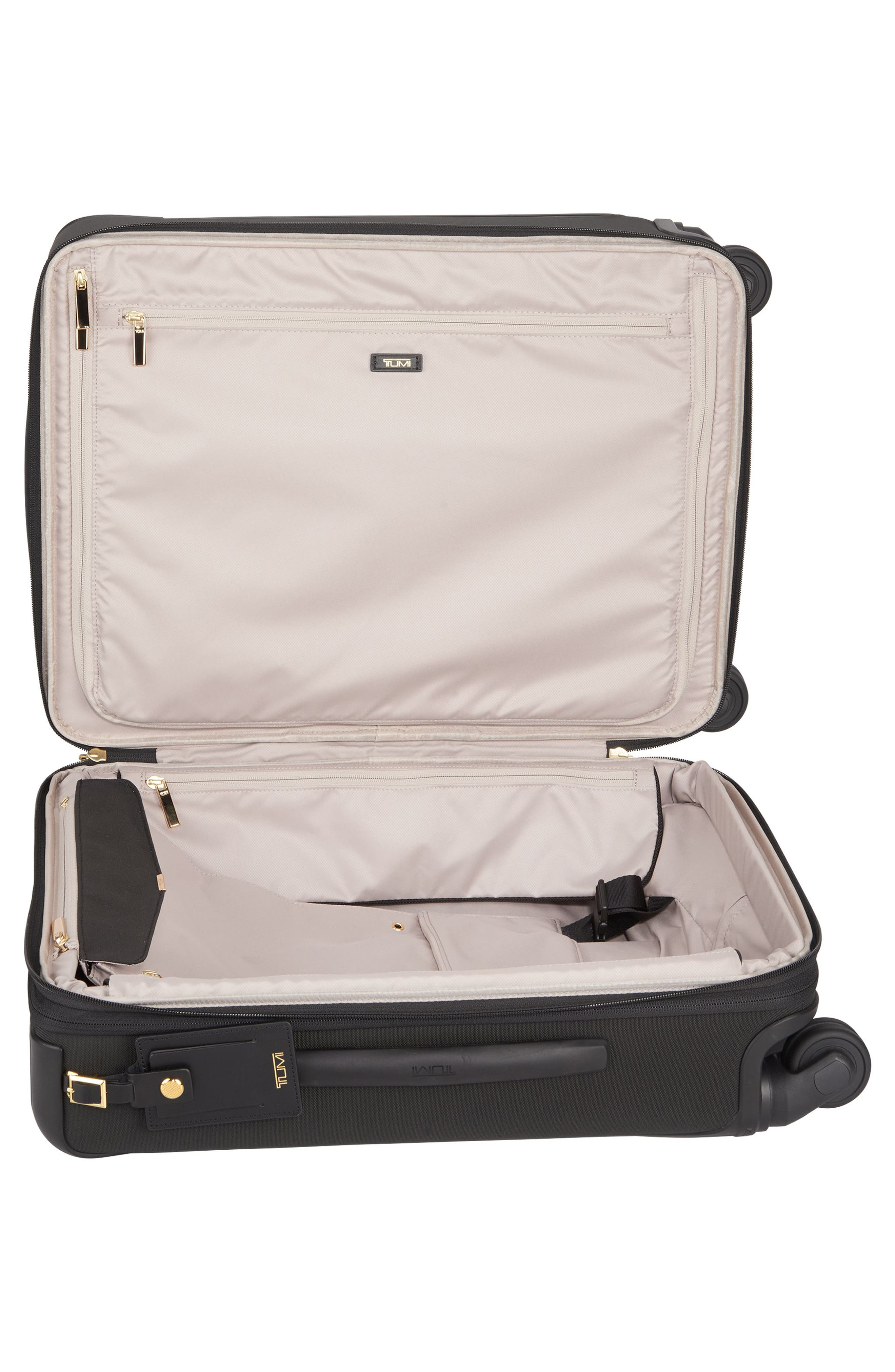 Alex 22-Inch Continental Carry-On,                             Alternate thumbnail 4, color,                             Black