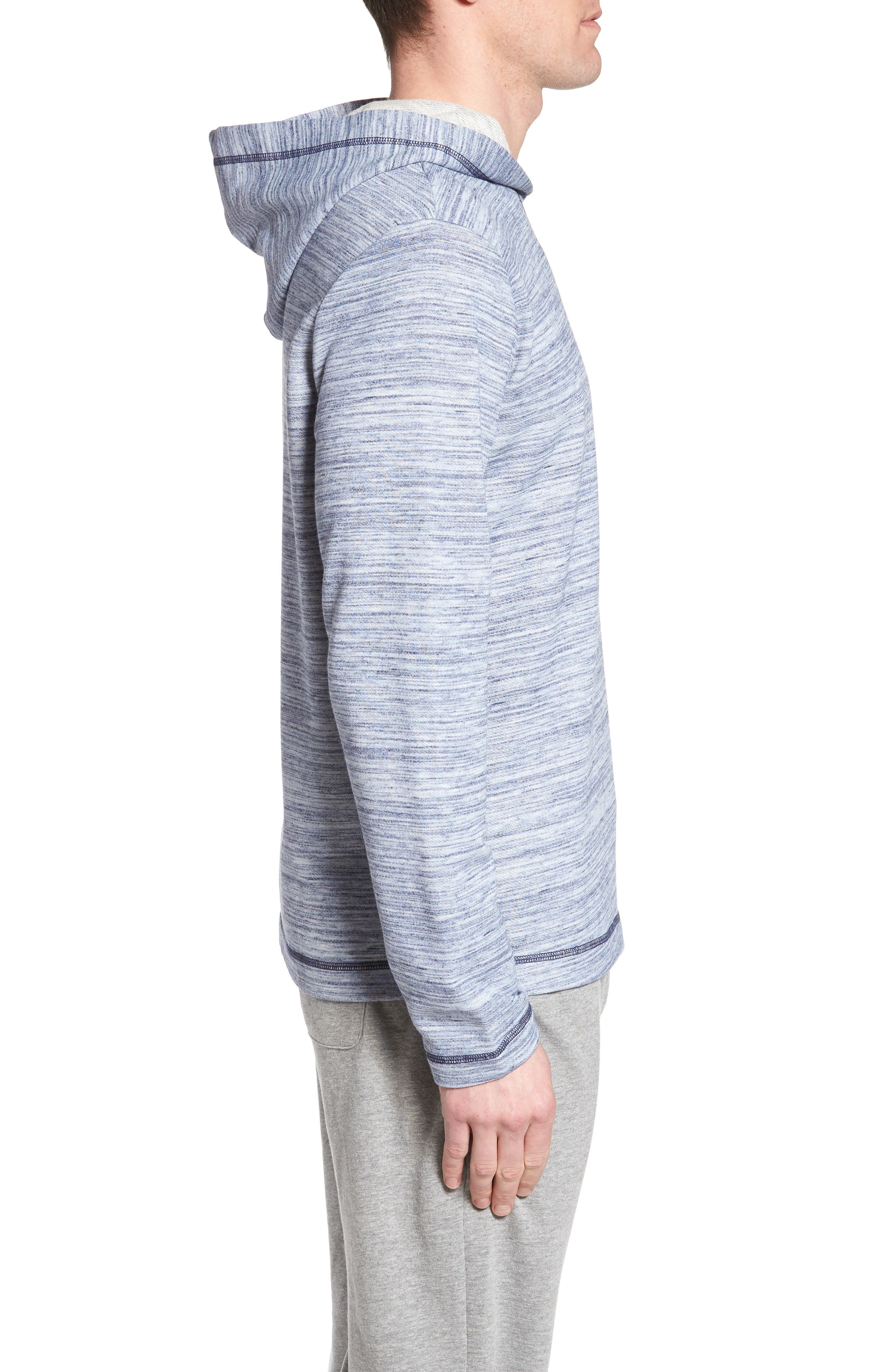 Swept in Waves Hoodie,                             Alternate thumbnail 3, color,                             Alfresco French Terry