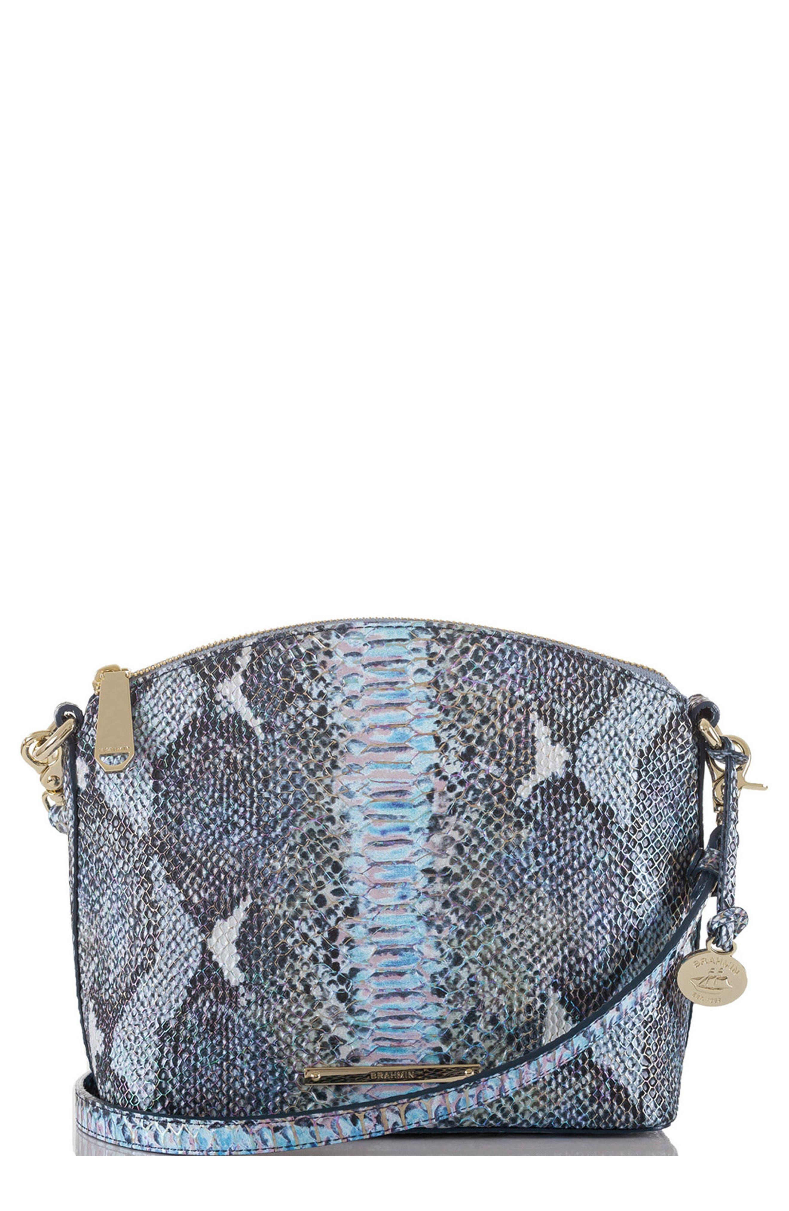 'Mini Duxbury' Crossbody Bag,                             Main thumbnail 1, color,                             Marine Seville
