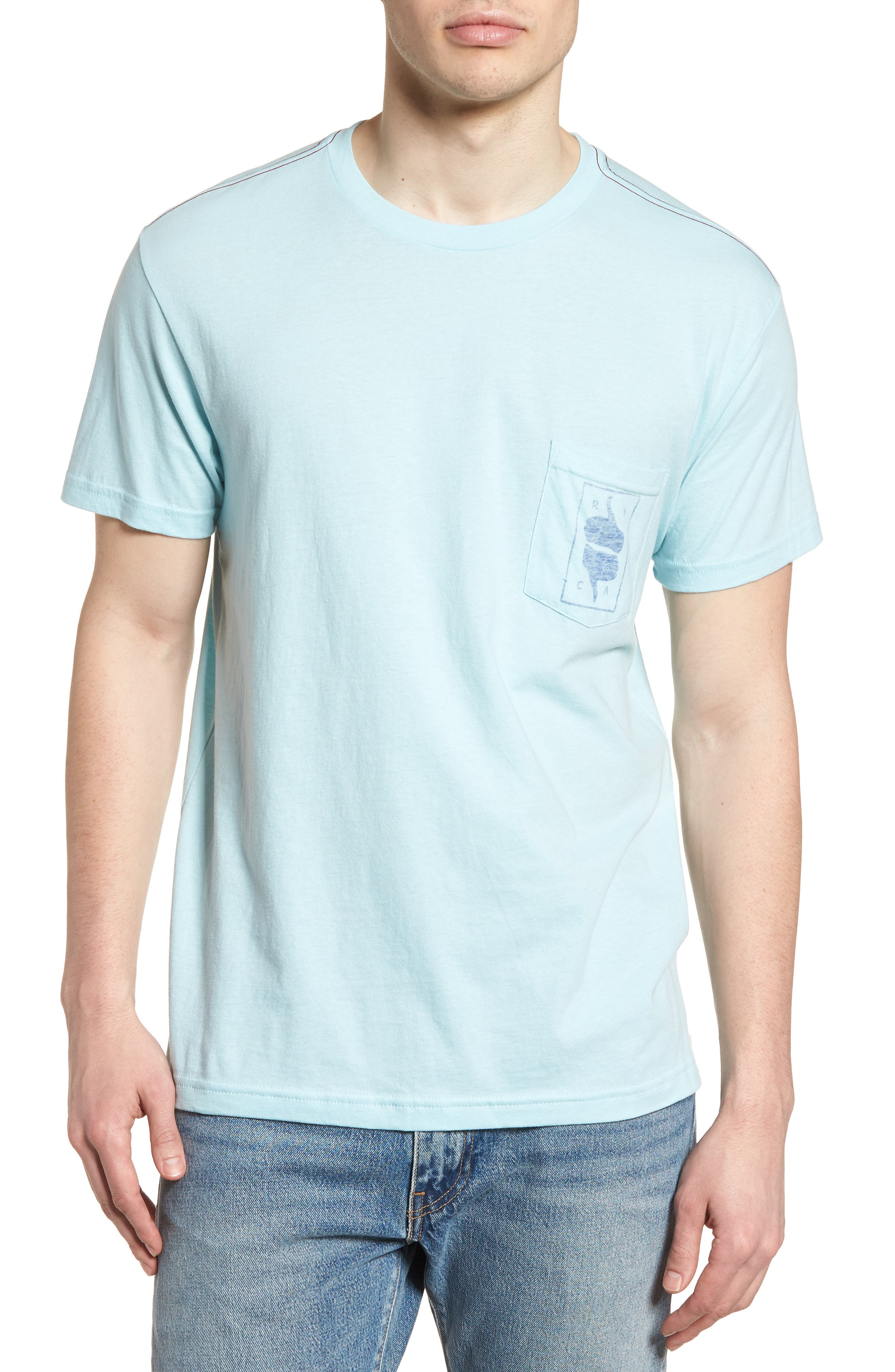 Thumbs Up T-Shirt,                         Main,                         color, Blue