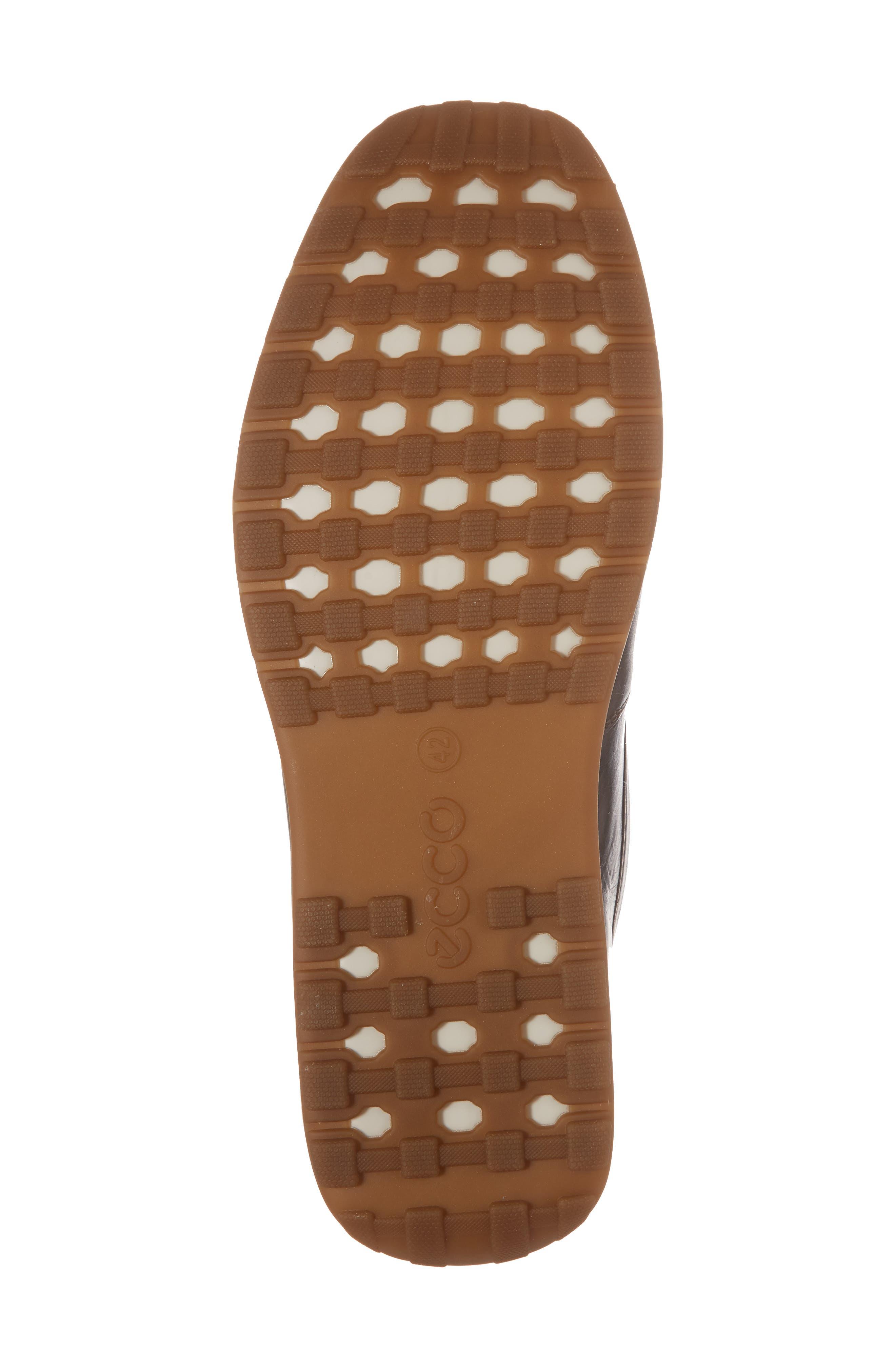 Dip Moc Toe Driving Loafer,                             Alternate thumbnail 6, color,                             Mocha Leather