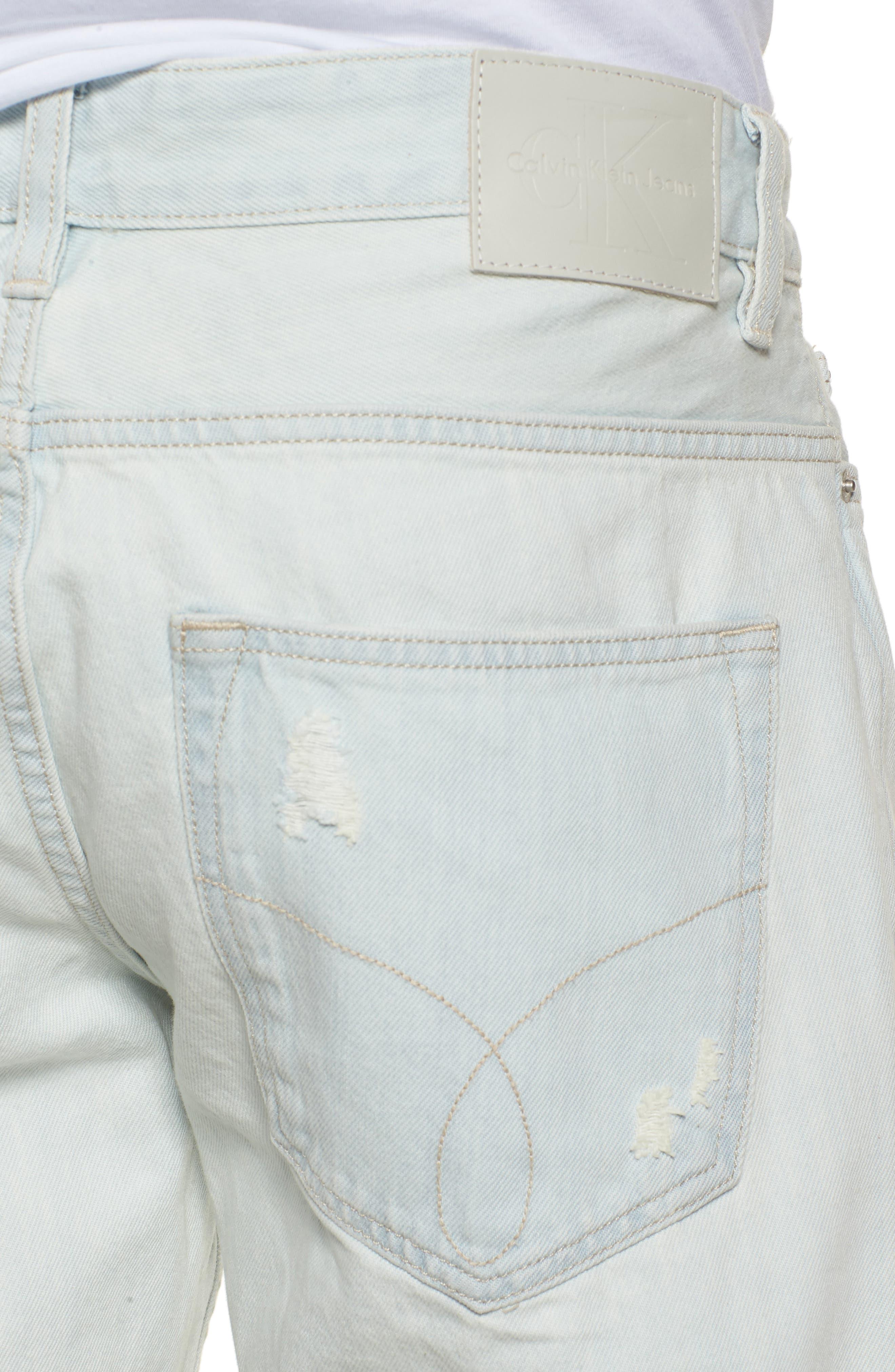Slim Jeans,                             Alternate thumbnail 4, color,                             Favor Blue