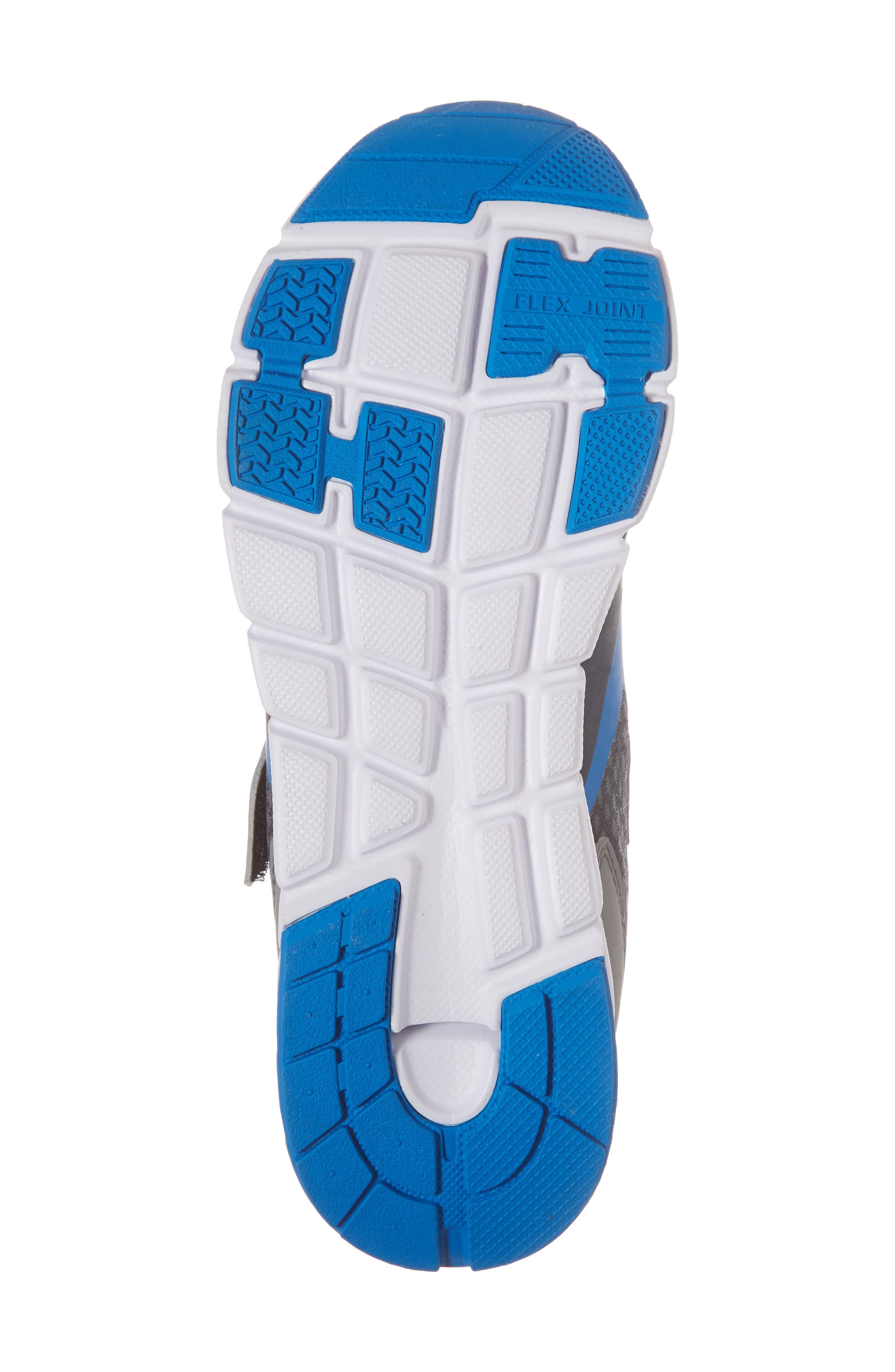 Sonic Washable Sneaker,                             Alternate thumbnail 6, color,                             Gray/ Royal