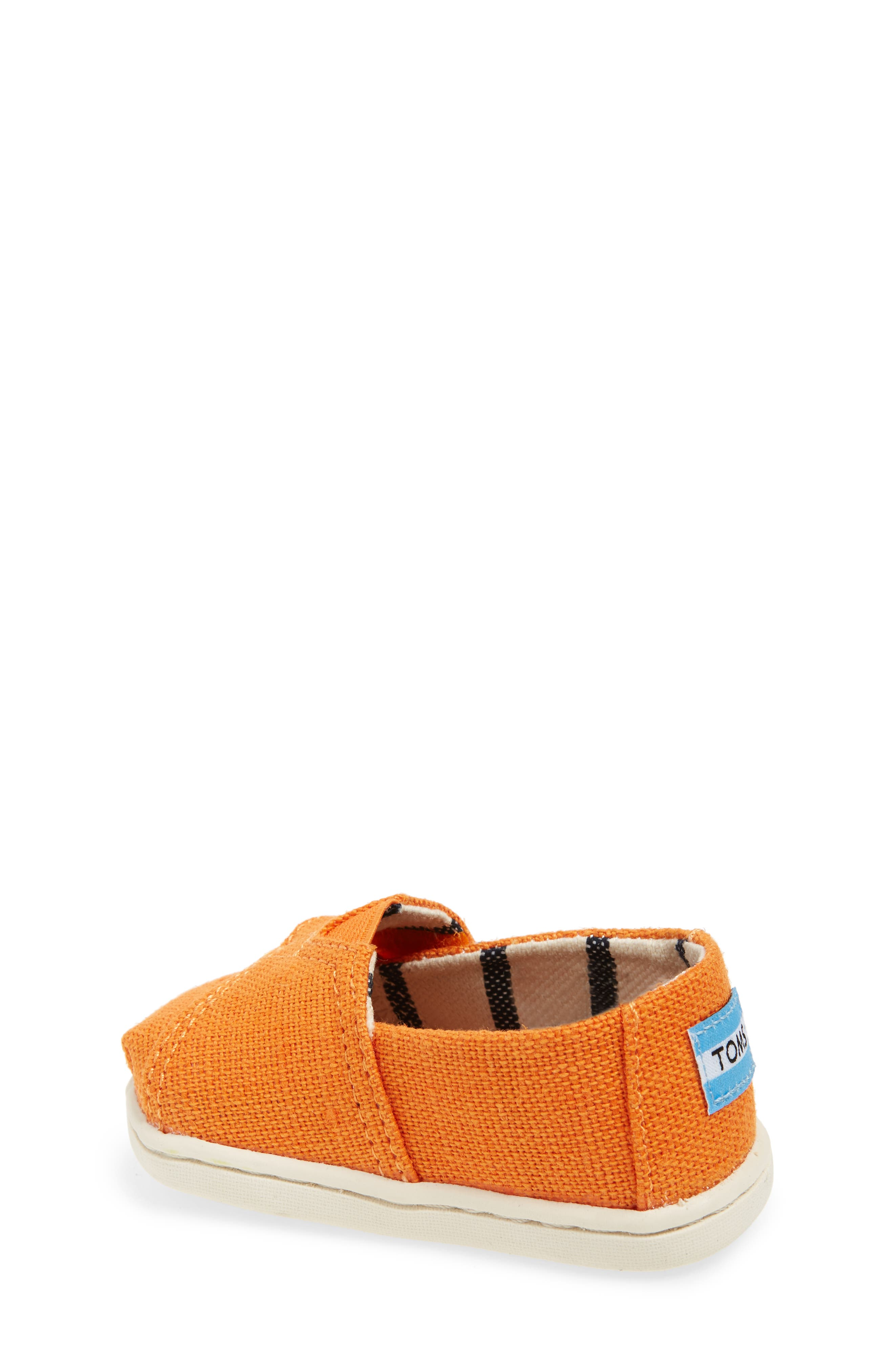 Chambray Slip-On,                             Alternate thumbnail 2, color,                             Russet Orange Heritage Canvas
