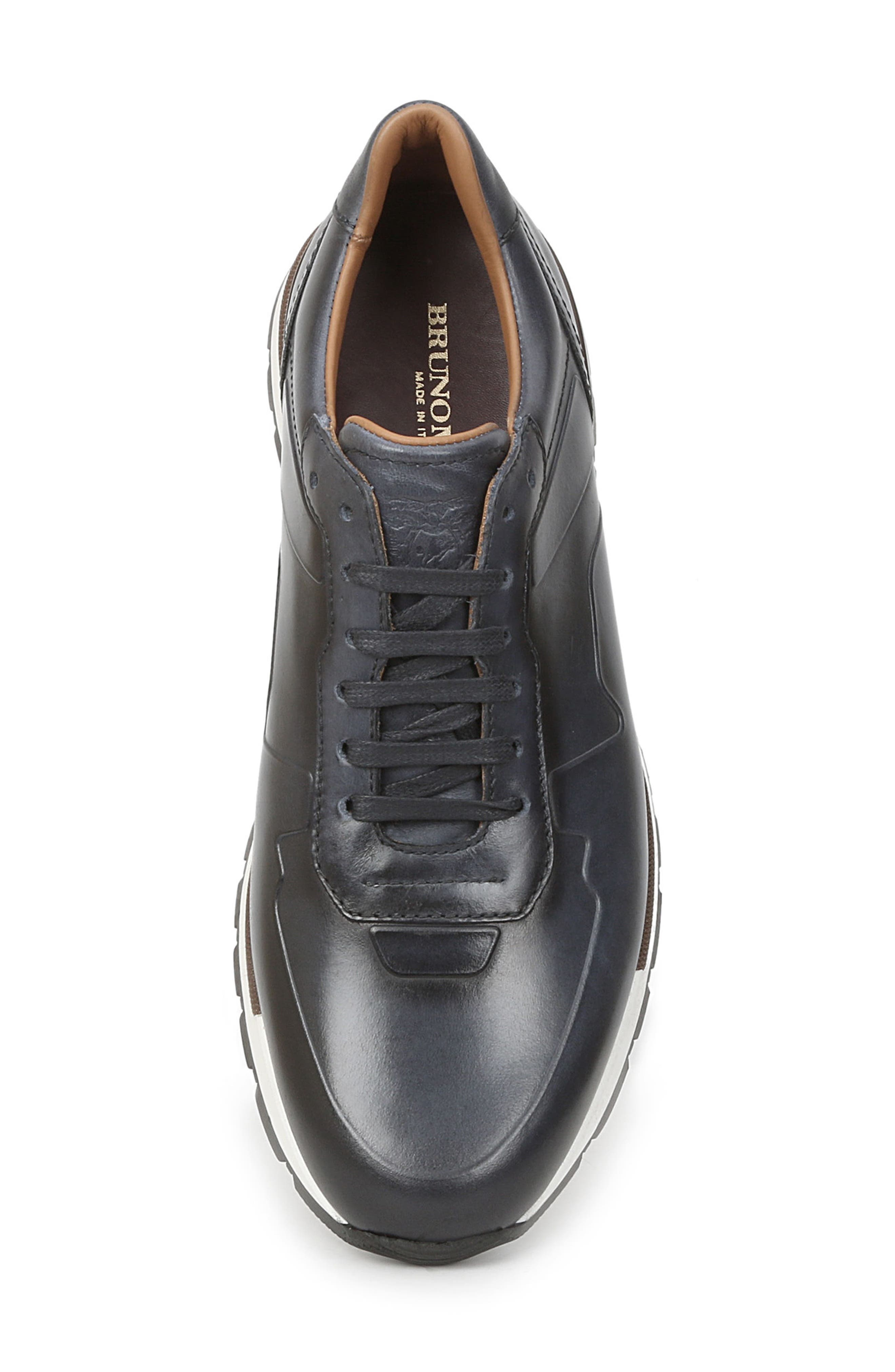 Davio Low Top Sneaker,                             Alternate thumbnail 5, color,                             Navy