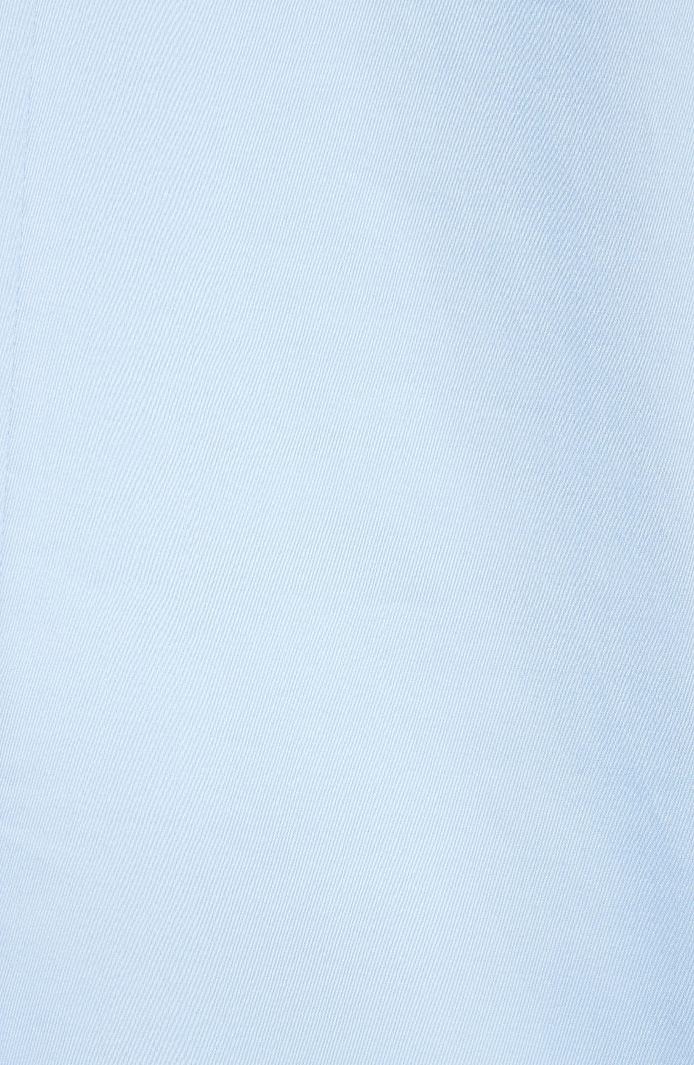 Cold Shoulder Shift Dress,                             Alternate thumbnail 5, color,                             Baby Blue