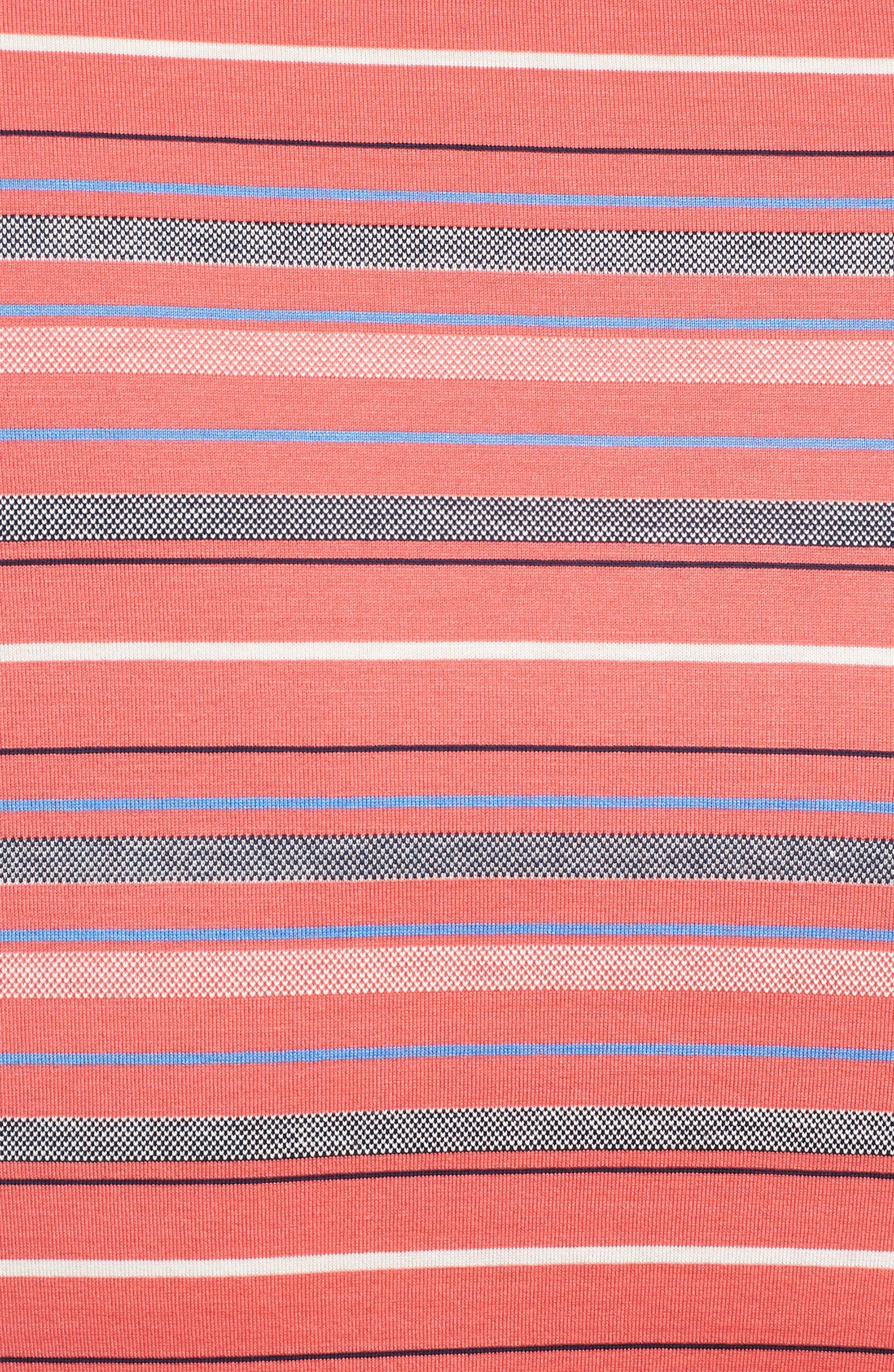 Alternate Image 5  - Bobby Jones Isle Stripe Jacquard Polo