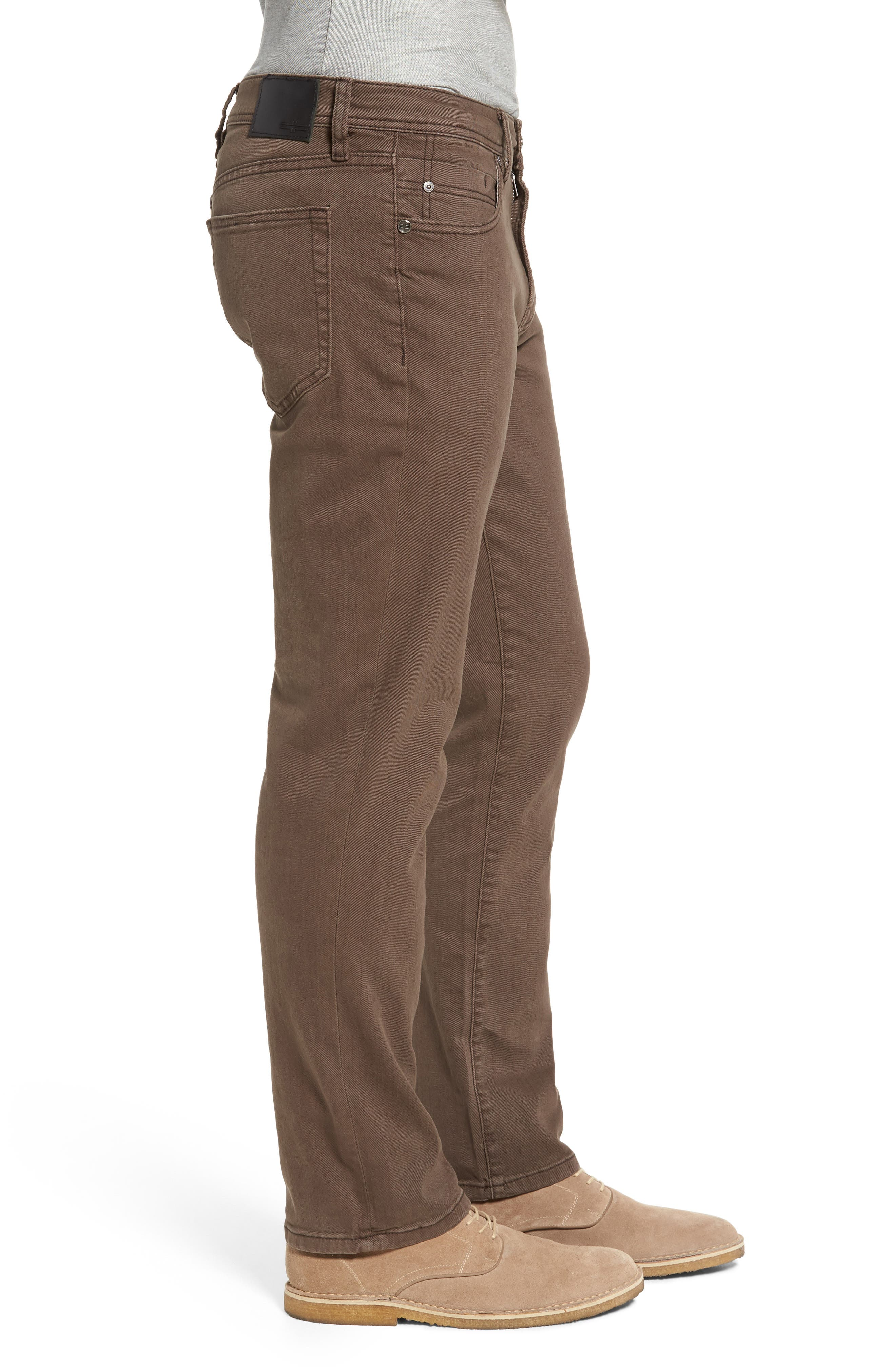 Jeans Co. Regent Relaxed Fit Jeans,                             Alternate thumbnail 3, color,                             Tobacco Leaf