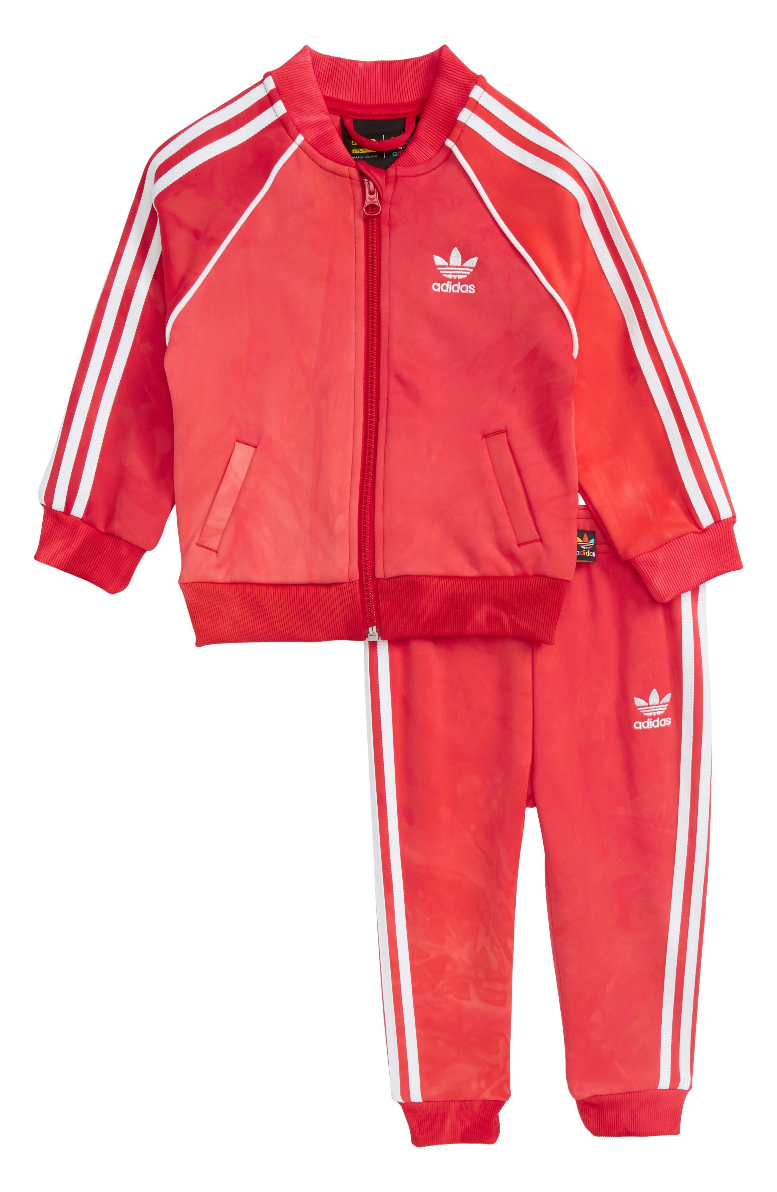 adidas Hu Holi Tracksuit (Baby Girls)